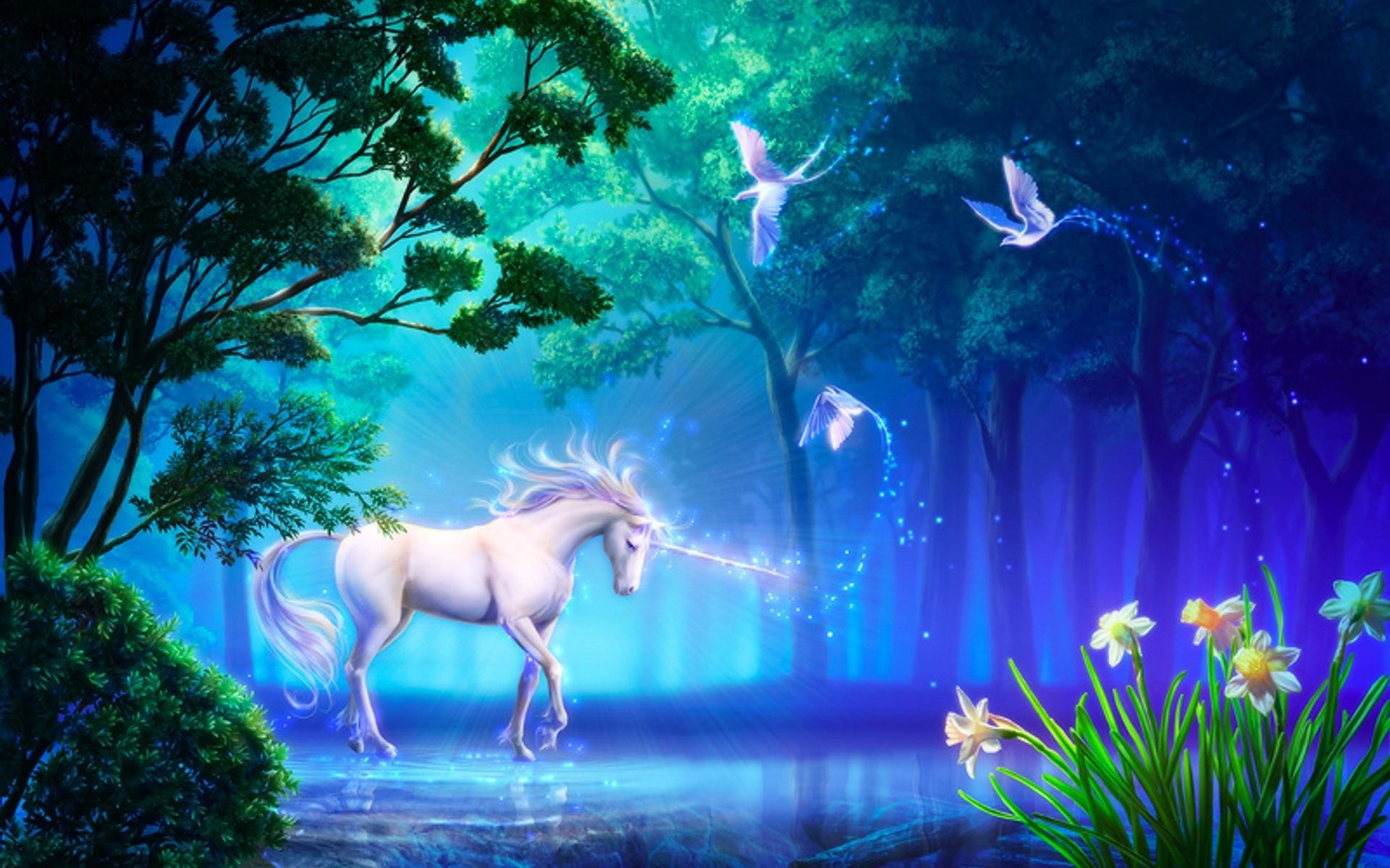 1920x1200 Unicorn Horse Greek Mythology