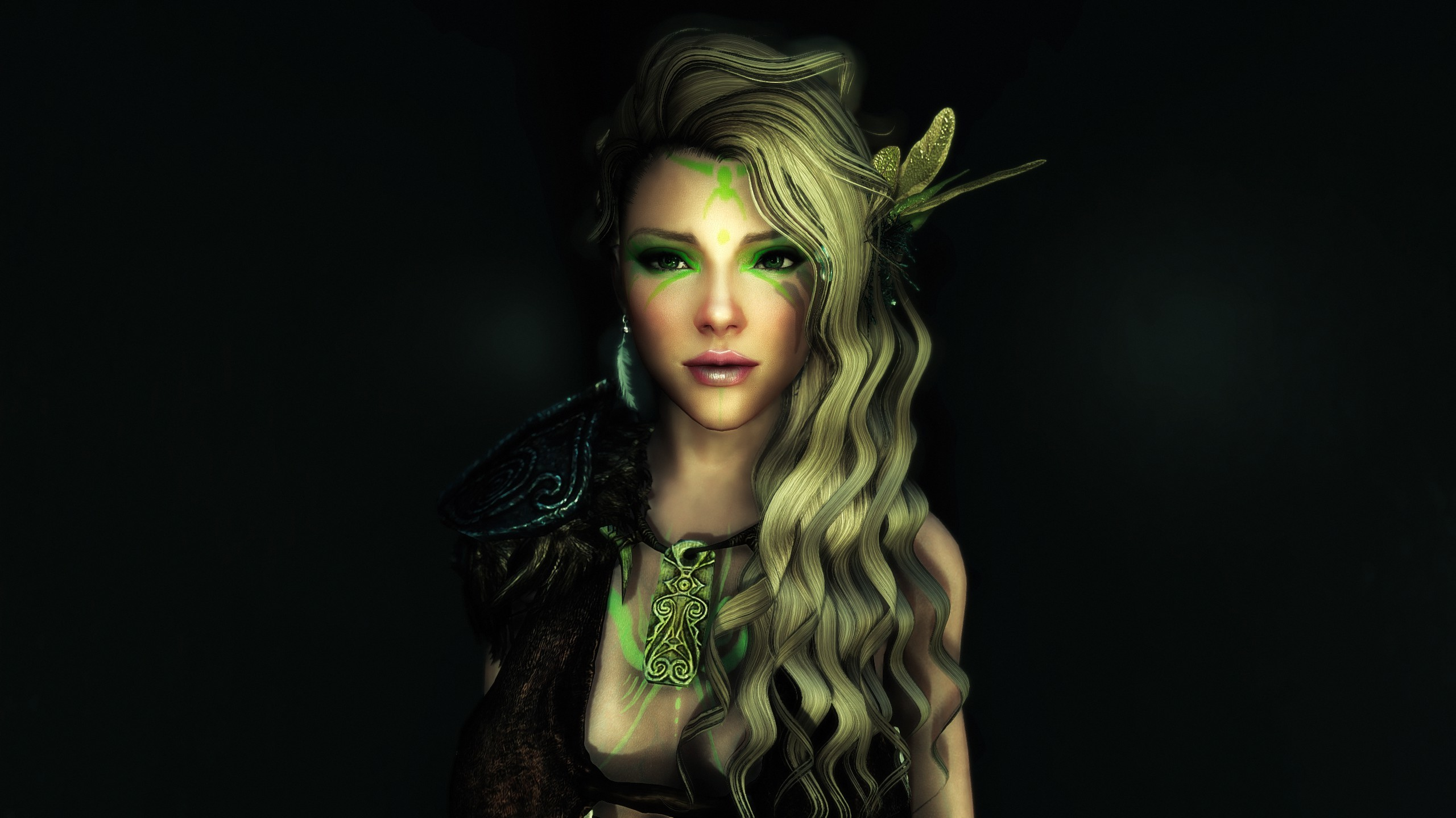2560x1440 Wallpaper : model, photography, green, fashion, Mod, ENB, Cole, Maija,  liza, Mira, girl, beauty, video, sexy, game, darkness, hot, games, skyrim,  ille, ...