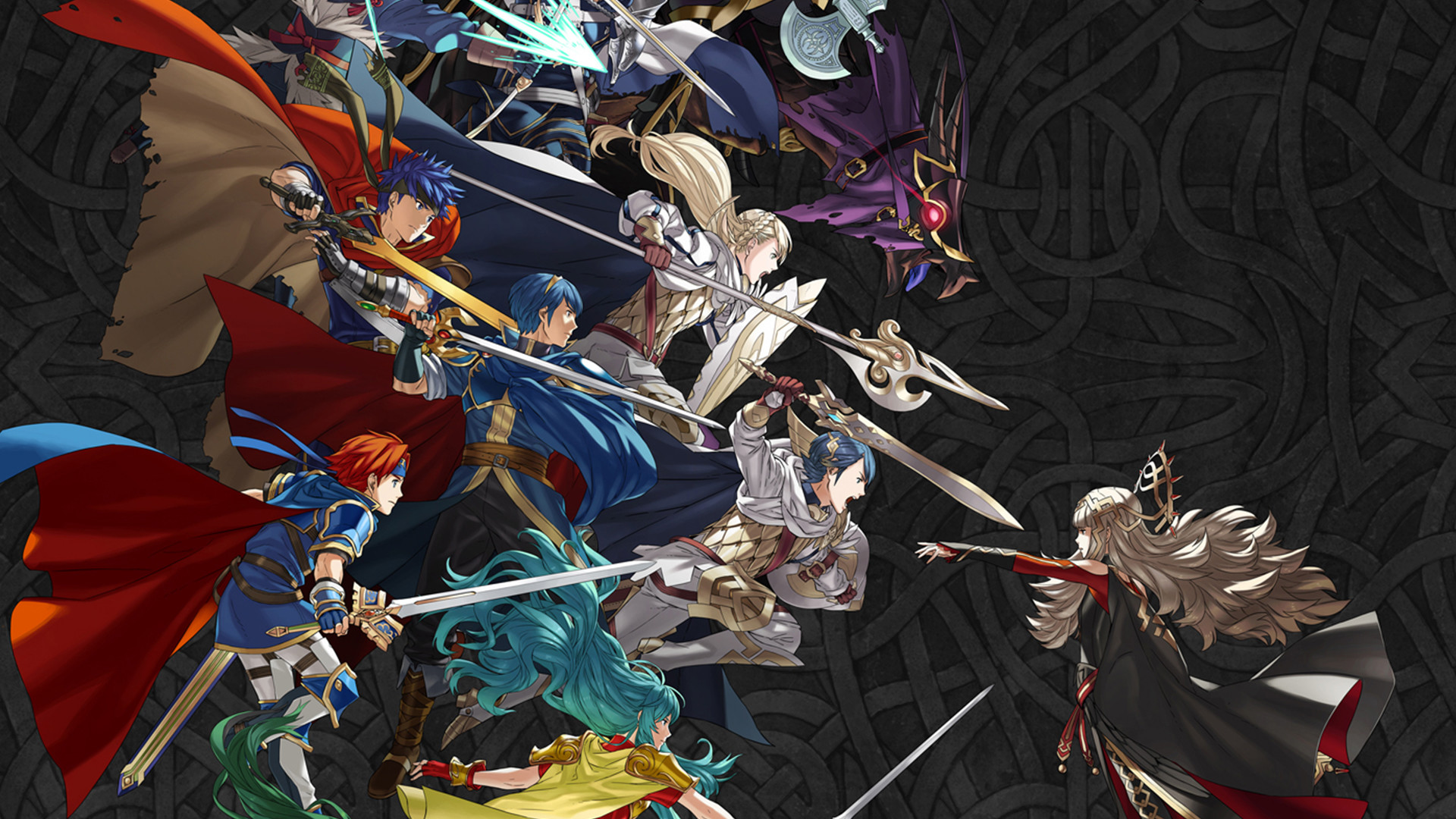 1920x1080 First Fire Emblem Heroes mobile calendars now revealed, feature Ike and Lyn  | Nintendo Wire
