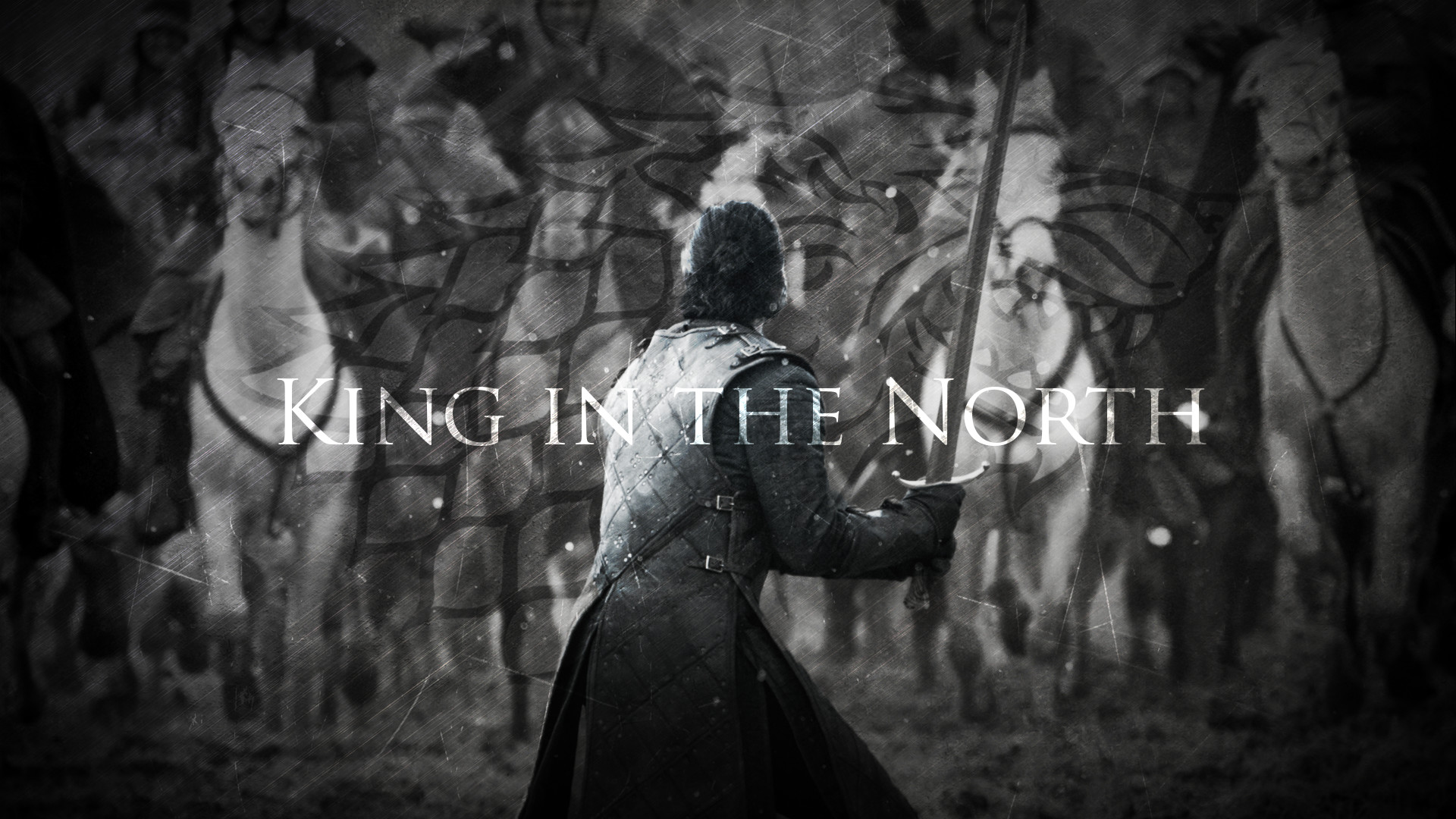 1920x1080 ... King in the North | Jon Snow | Game of Thrones by TaigaLife