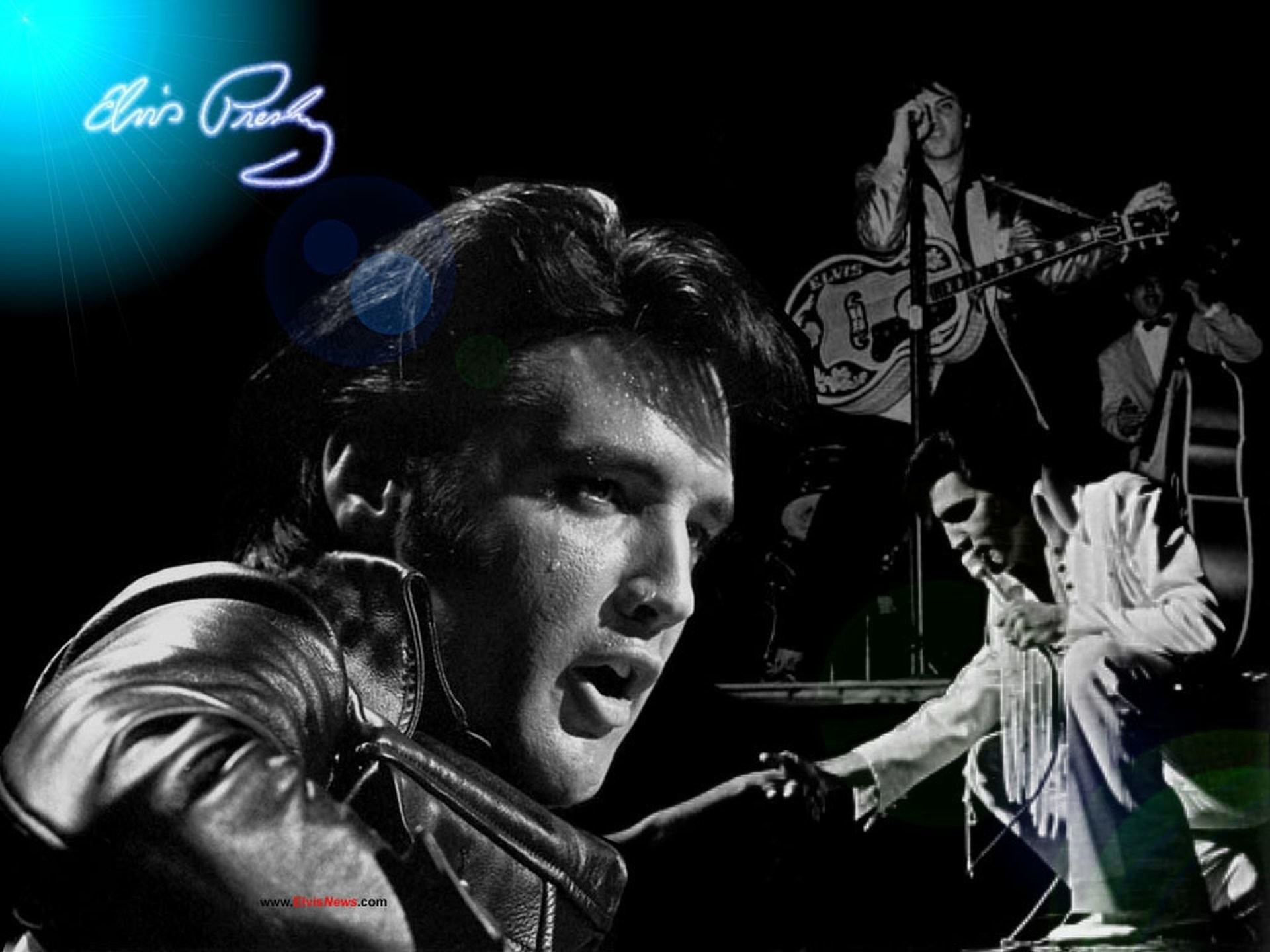 1920x1440 Music - Elvis Presley The King Rock & Roll Music Wallpaper