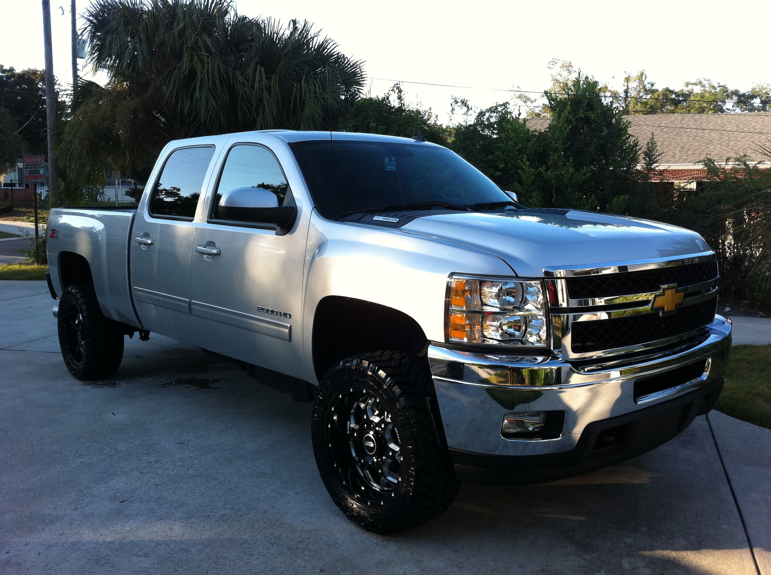 2592x1936 New Rims & Tires For The New Duramax - The Hull Truth - Boating and Fishing  Forum