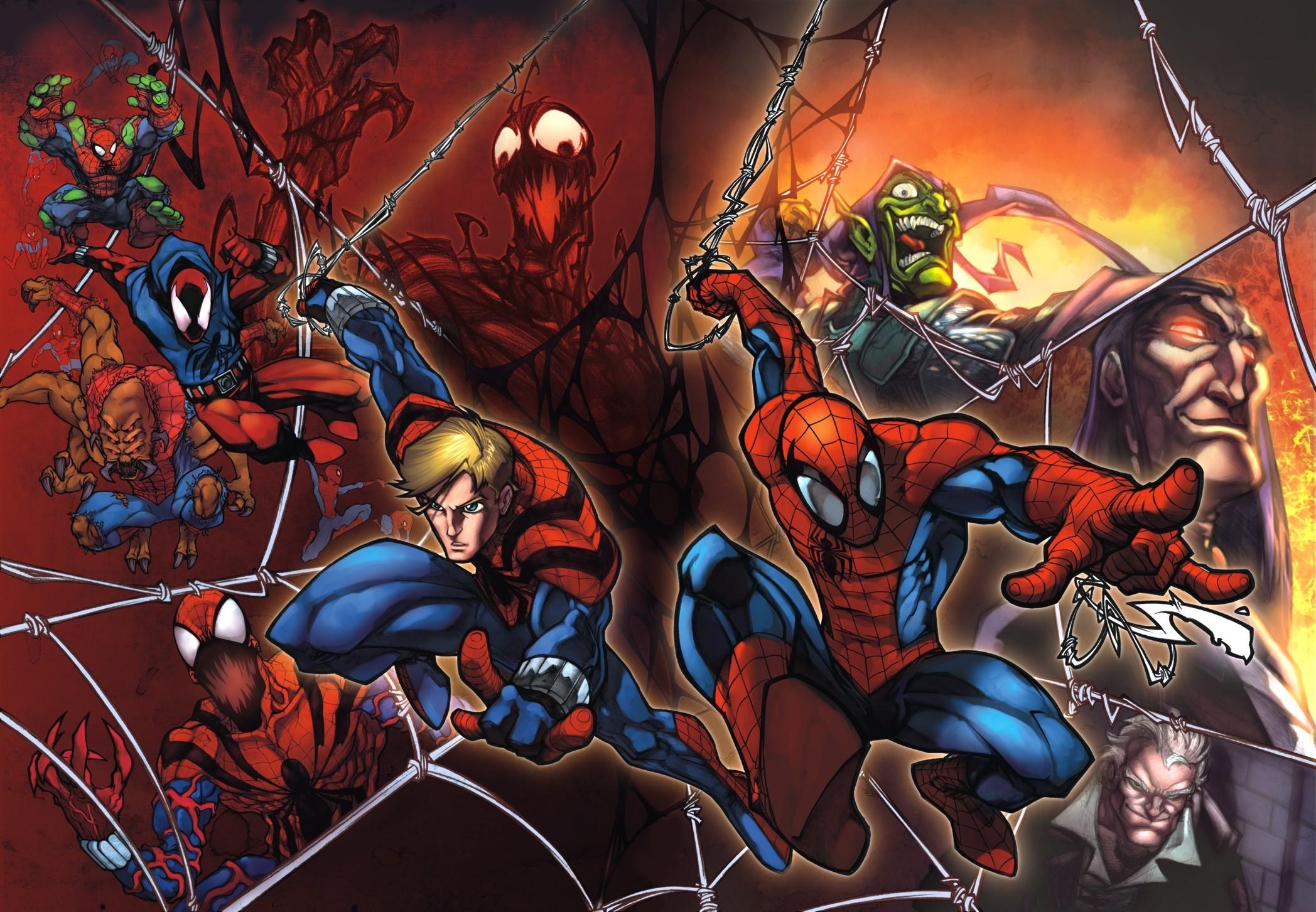Spiderman Cartoon Wallpaper 75 Images