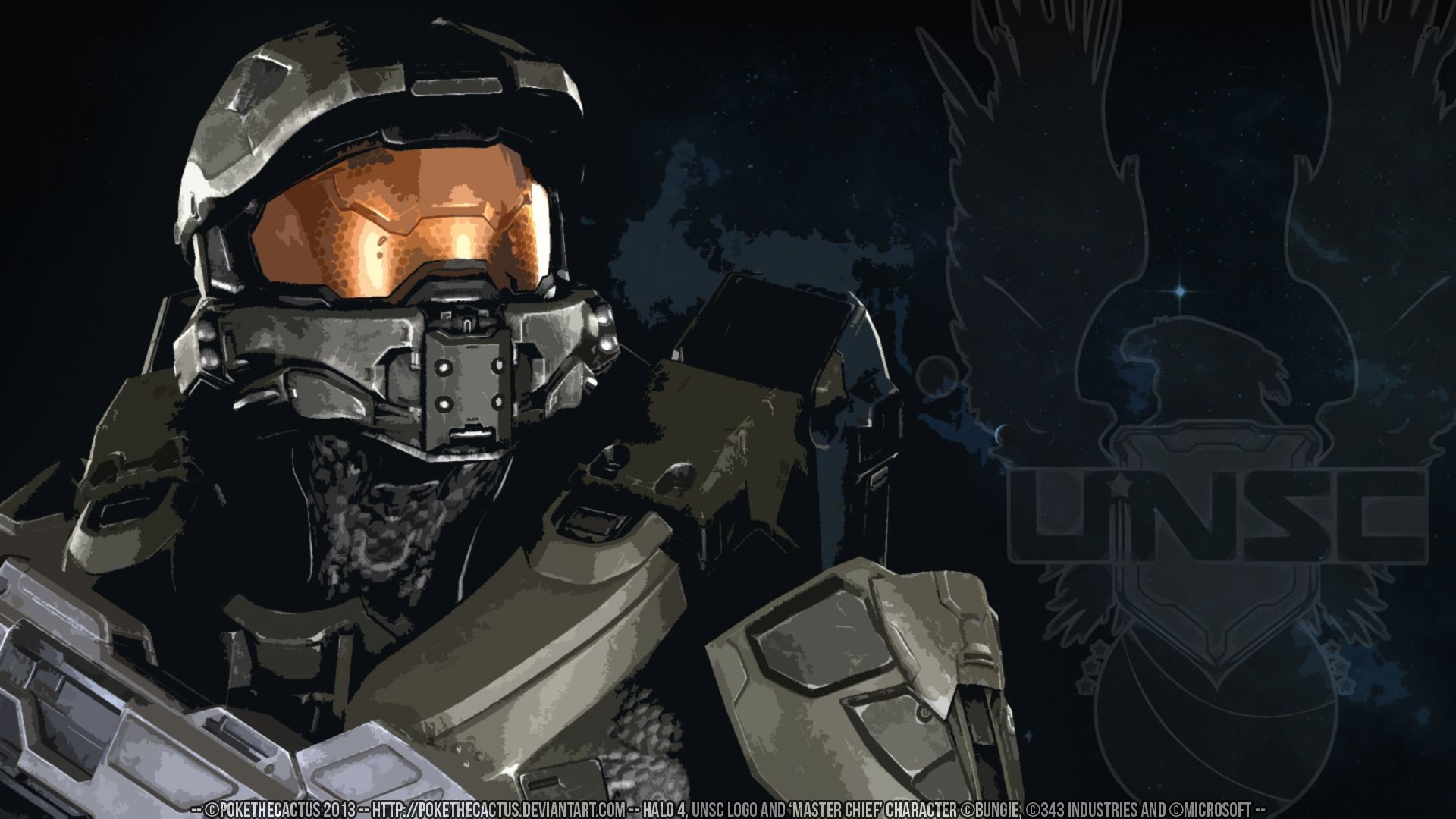 1920x1080 DeviantArt: More Like [] HALO 4 [] - [] Master Chief HD