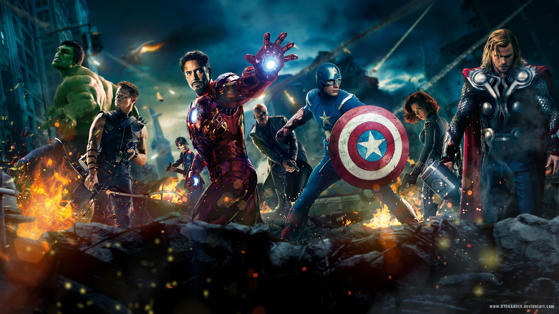 1920x1080 The Avengers Movie 2012