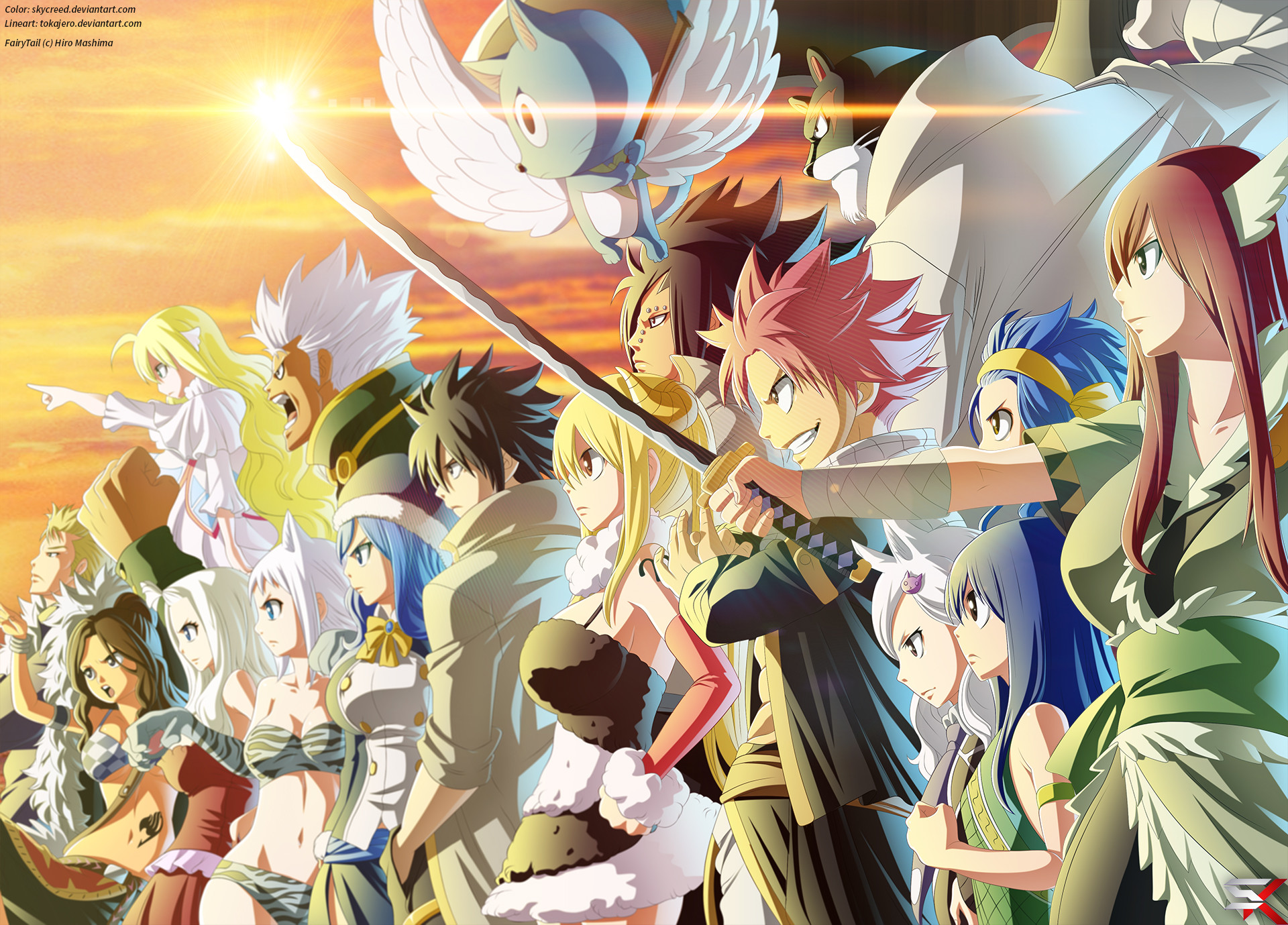Fairy Tail Guild Wallpaper Hd Laxus Dreyar Wallpaper...