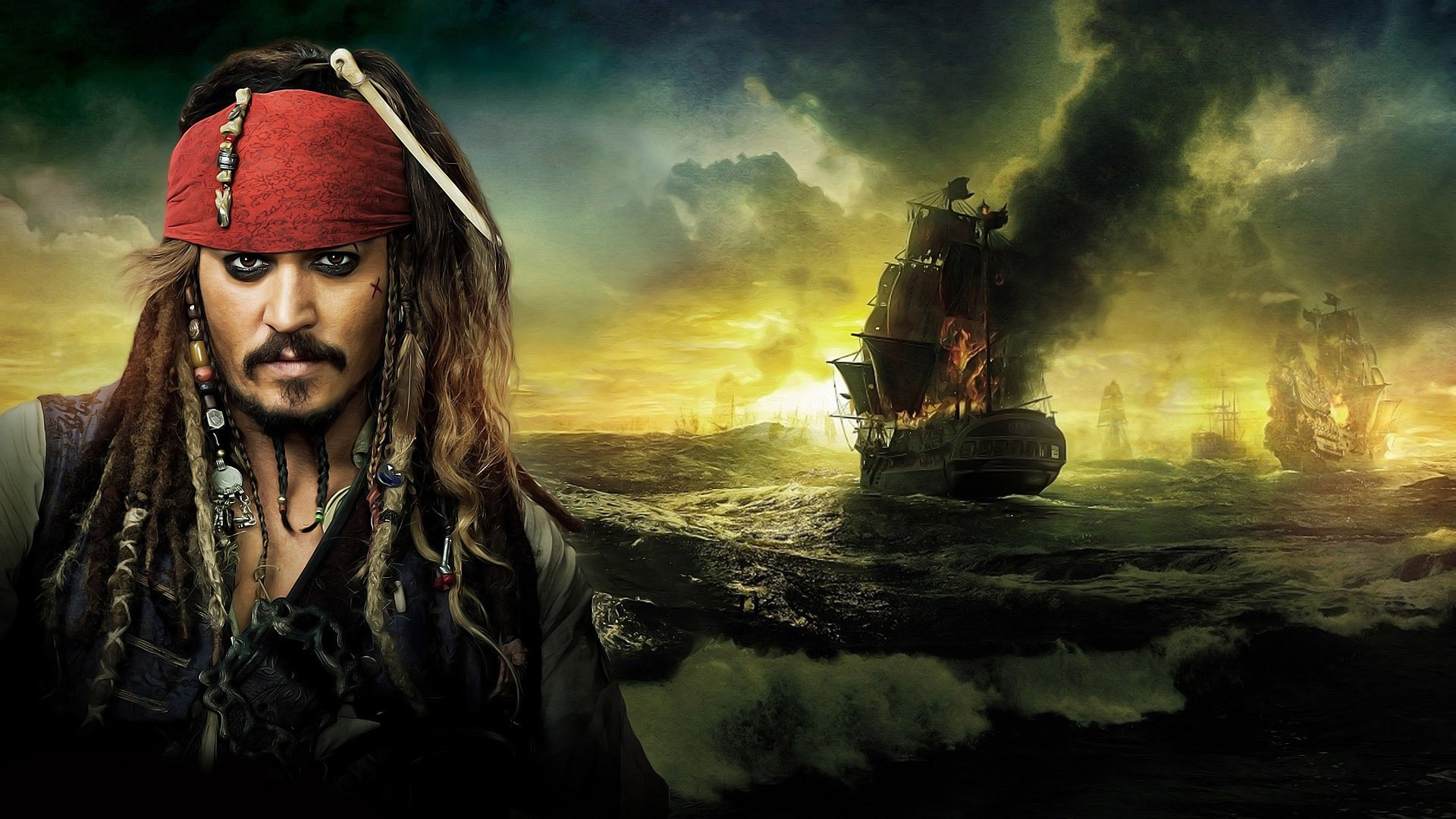 1920x1080 Pirates Of The Caribbean Hd Wallpaper