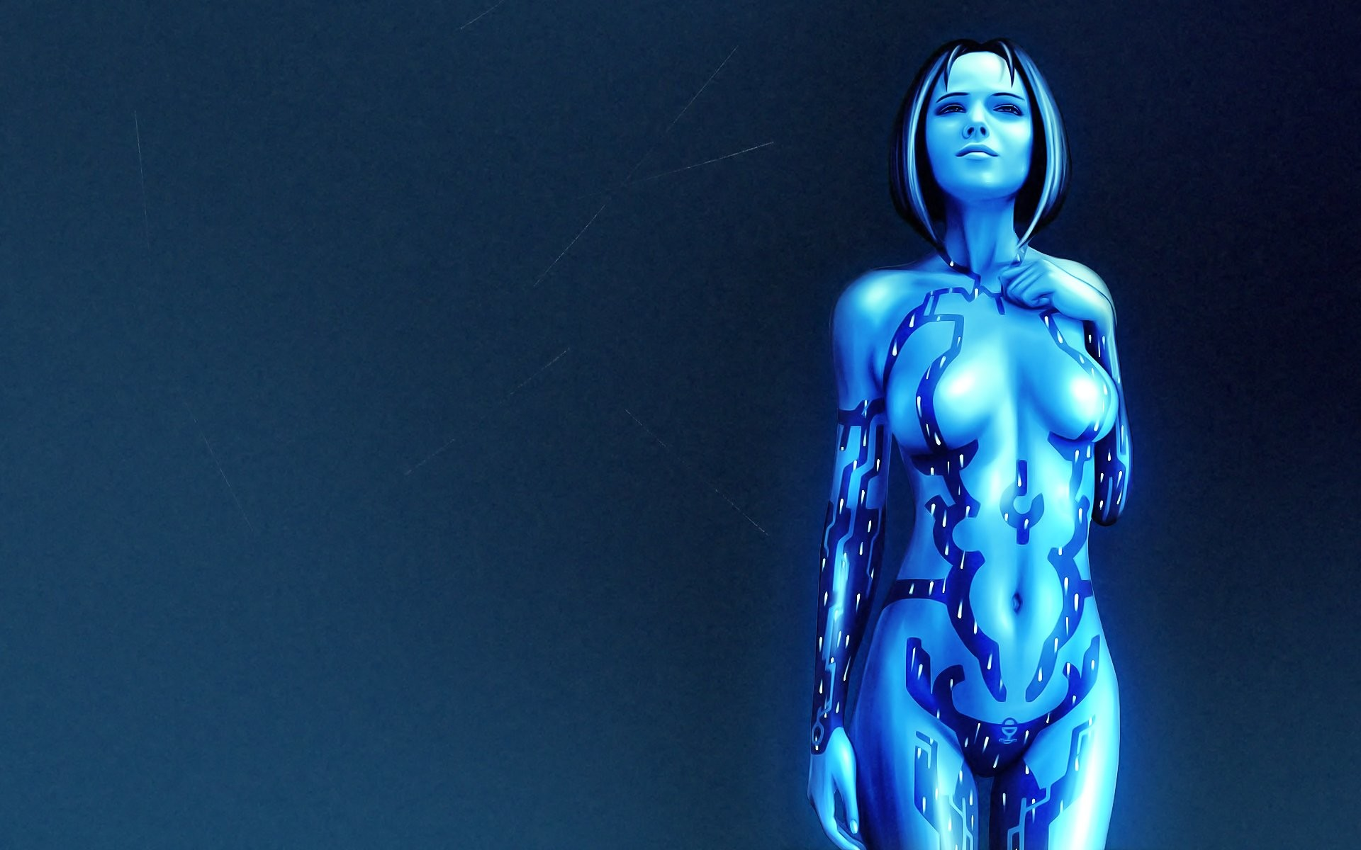 1920x1200 Cortana Halo Wallpapers by Angela Nieves #10