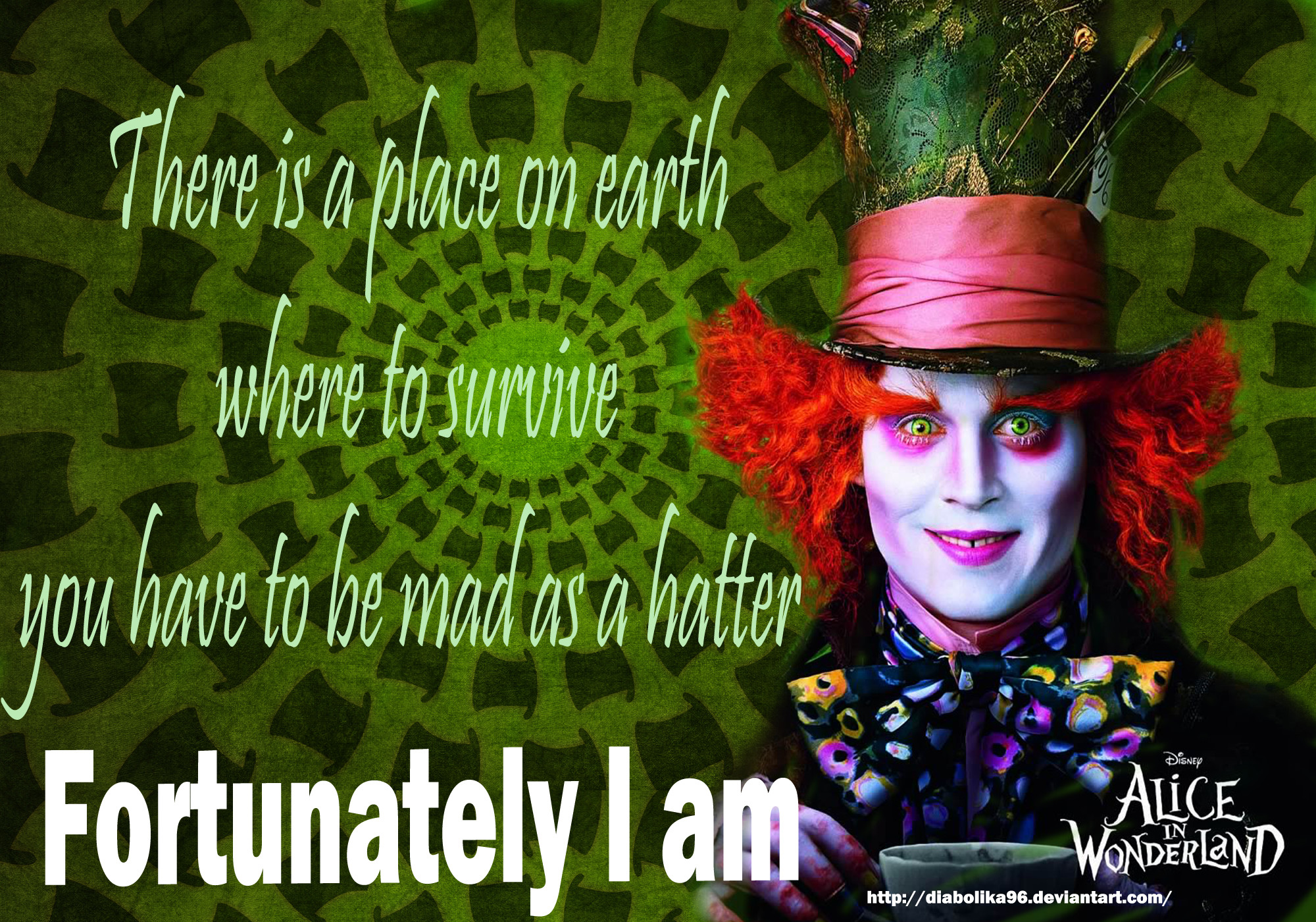 2000x1400 Mad Hatter Wallpapers Wallpaper | HD Wallpapers | Pinterest ...