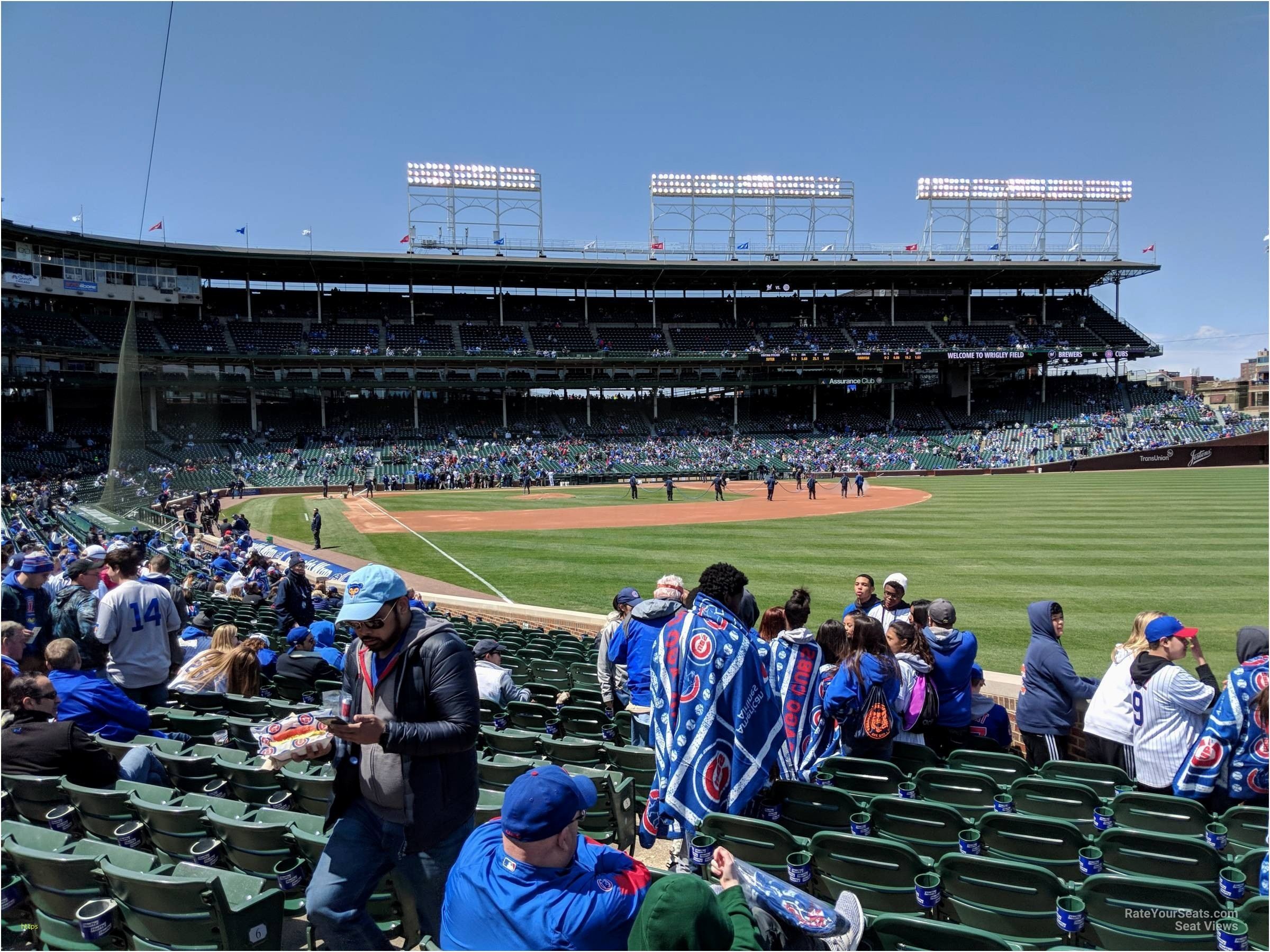 2400x1800 ... Wrigley Field Wallpaper Luxury Wrigley Field Section 140 Chicago Cubs  Rateyourseats ...
