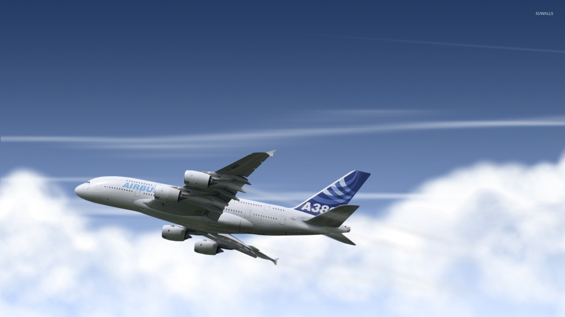 1920x1080 Airbus A380 [4] wallpaper
