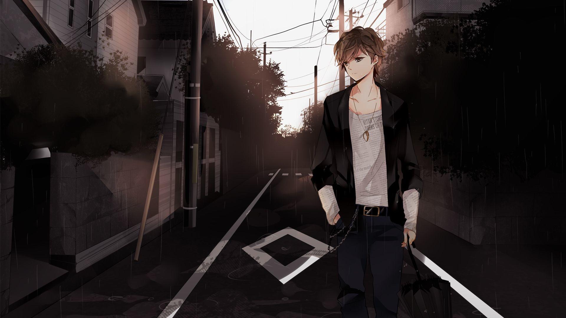 Sad Anime Wallpaper 64 Images