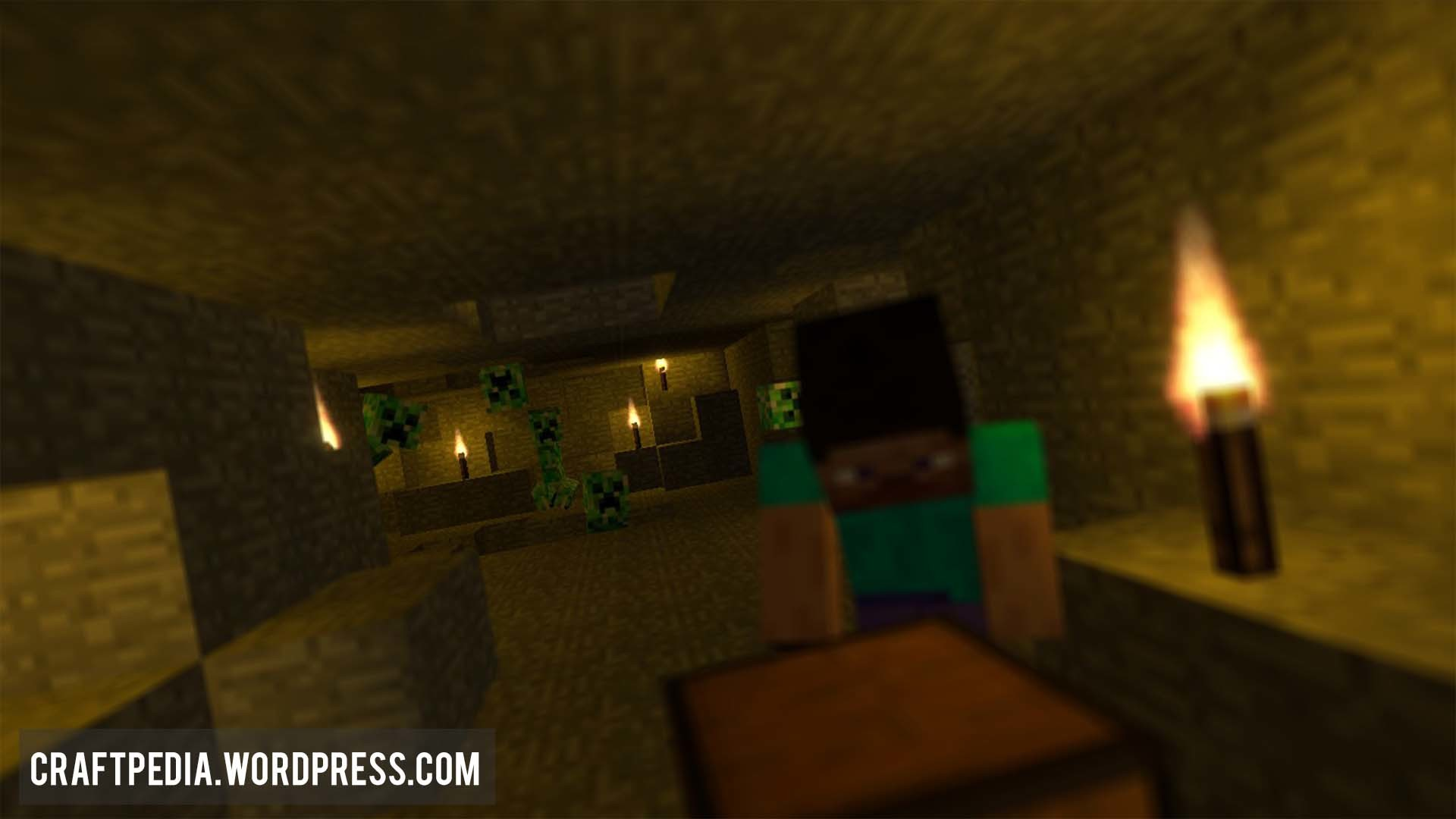 1920x1080 Creepers be Creepin HD Minecraft Animated Desktop Background Wallpaper