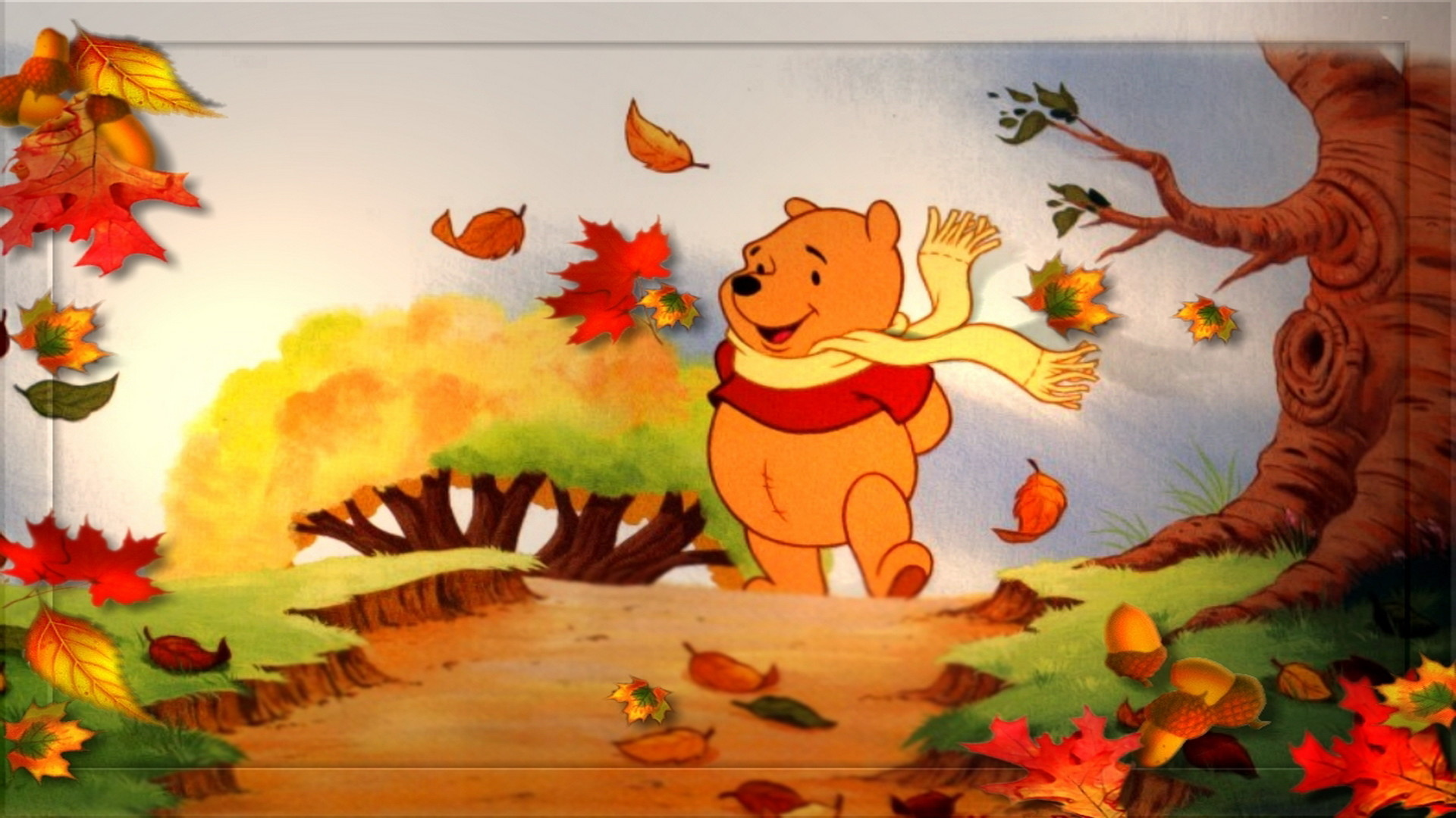 Disney Thanksgiving Wallpaper for