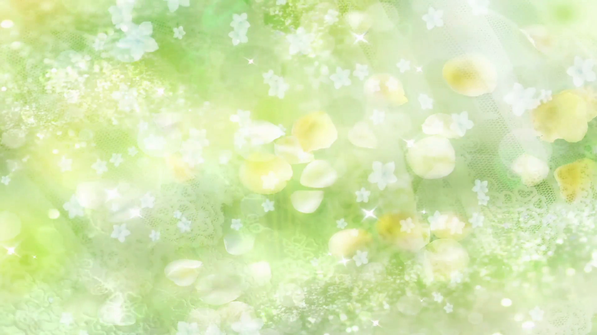 1920x1080 Green Flowers - Abstract Wedding Background 03 Stock Video Footage -  VideoBlocks