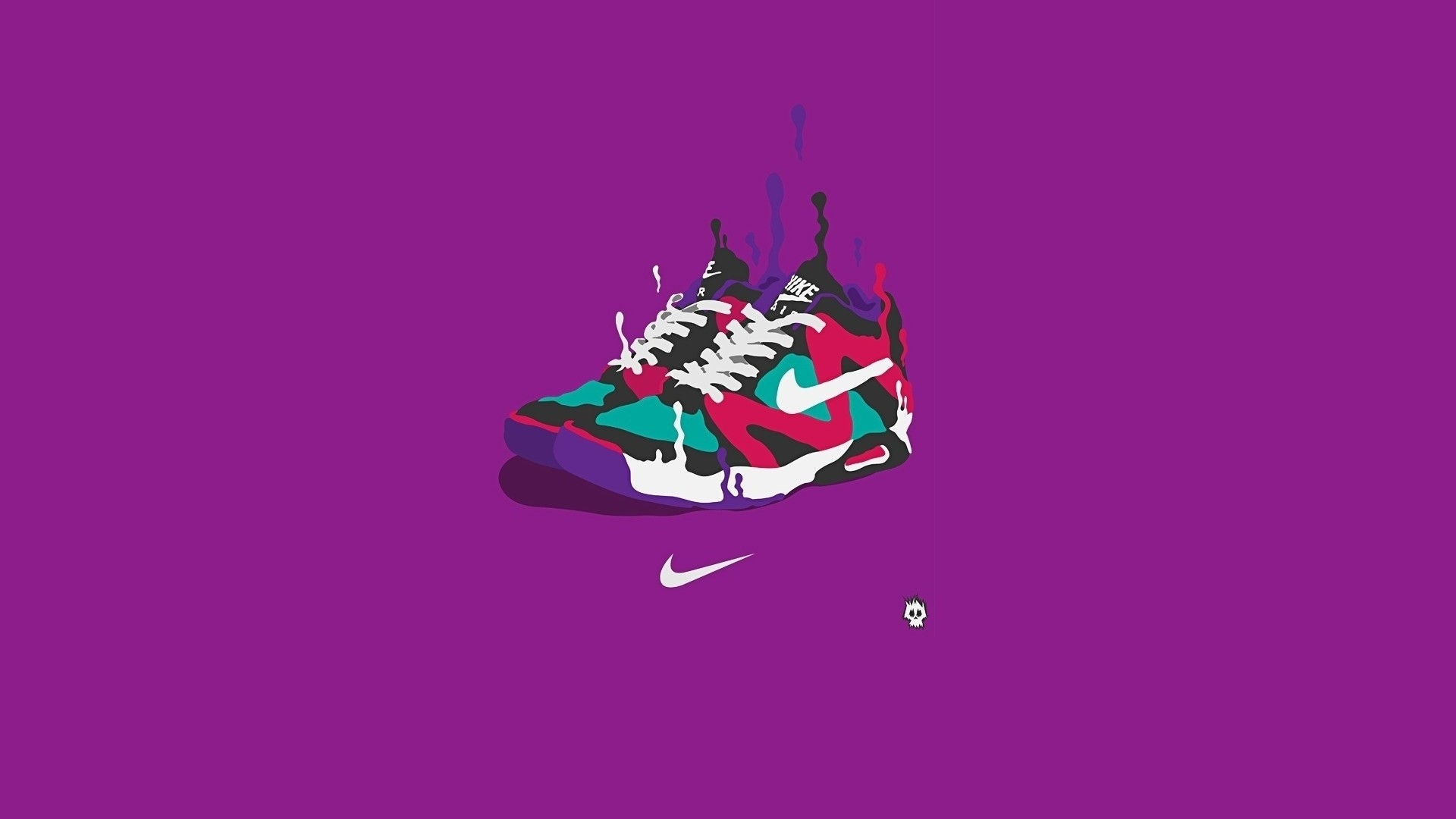 1920x1080  Wallpaper nike, sneakers, brand, sports, firm