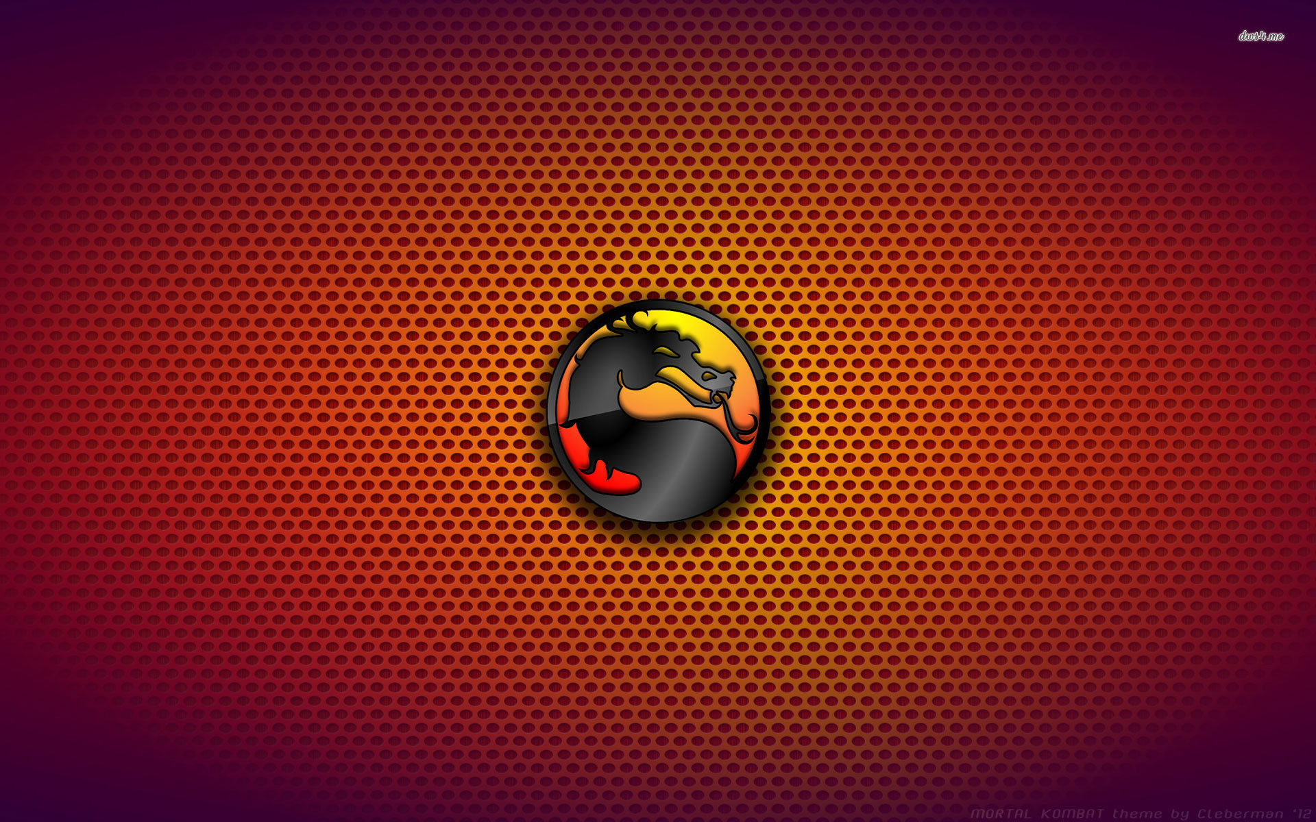 1920x1200 ... Mortal Kombat logo wallpaper  ...