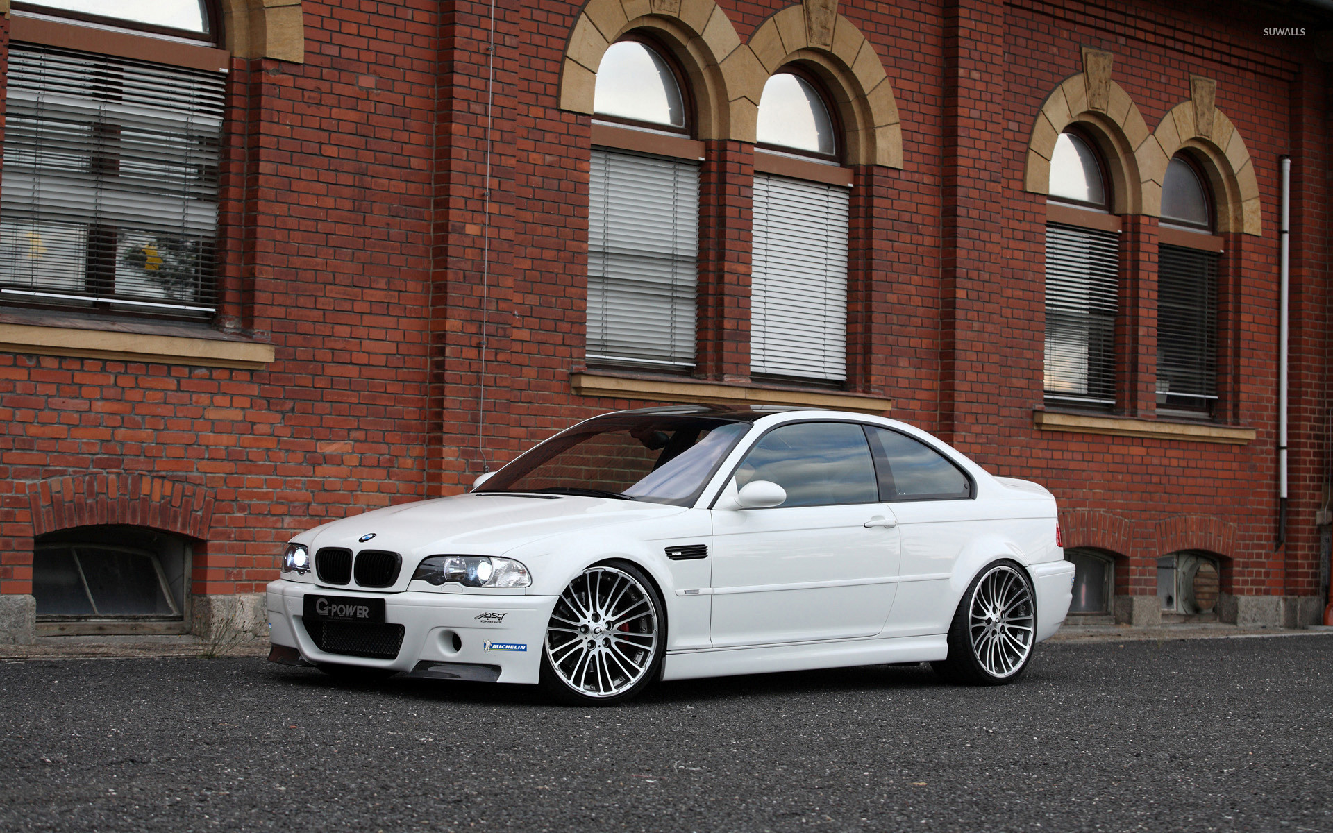 1920x1200 Bmw E46 M3 White - wallpaper.
