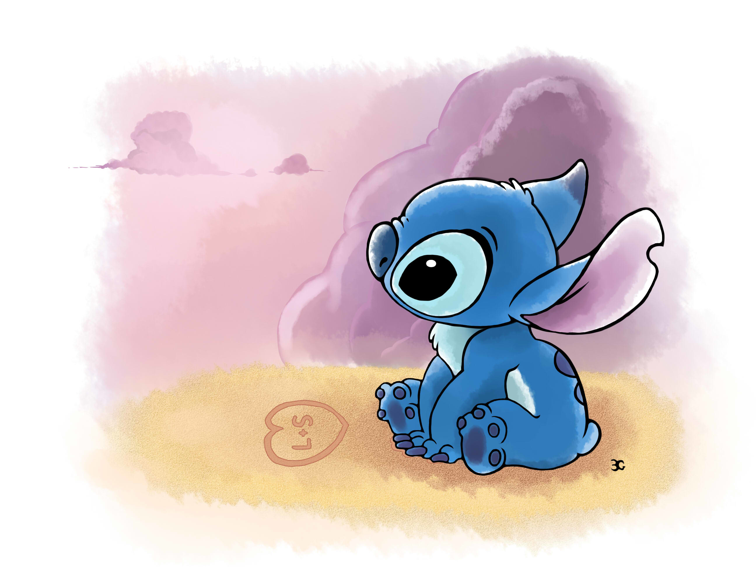 It is a graphic of Critical Images of Lilo & Stitch