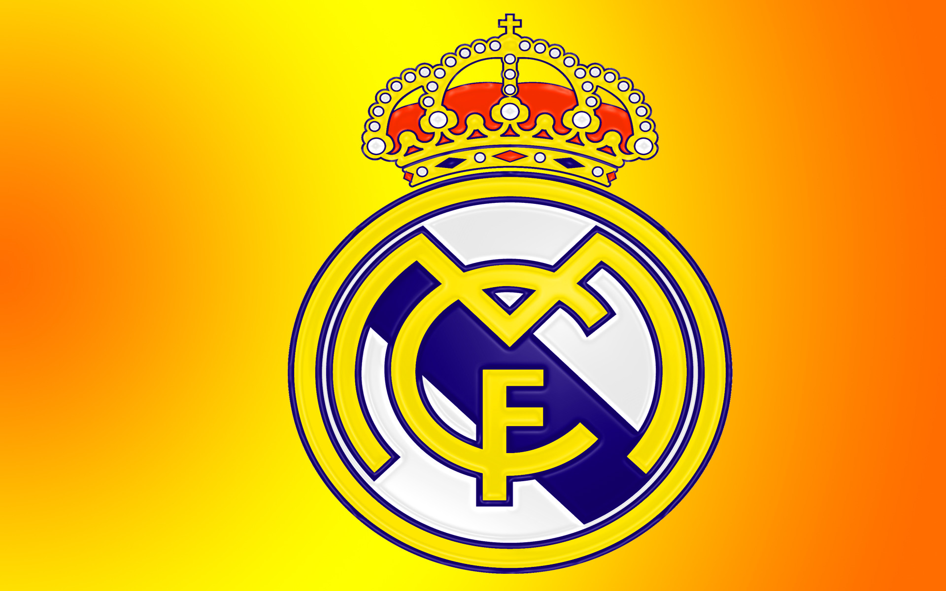 1920x1200 Amazing-Real-Madrid-Cartoon-Logo-Wallpaper-Desktop-764