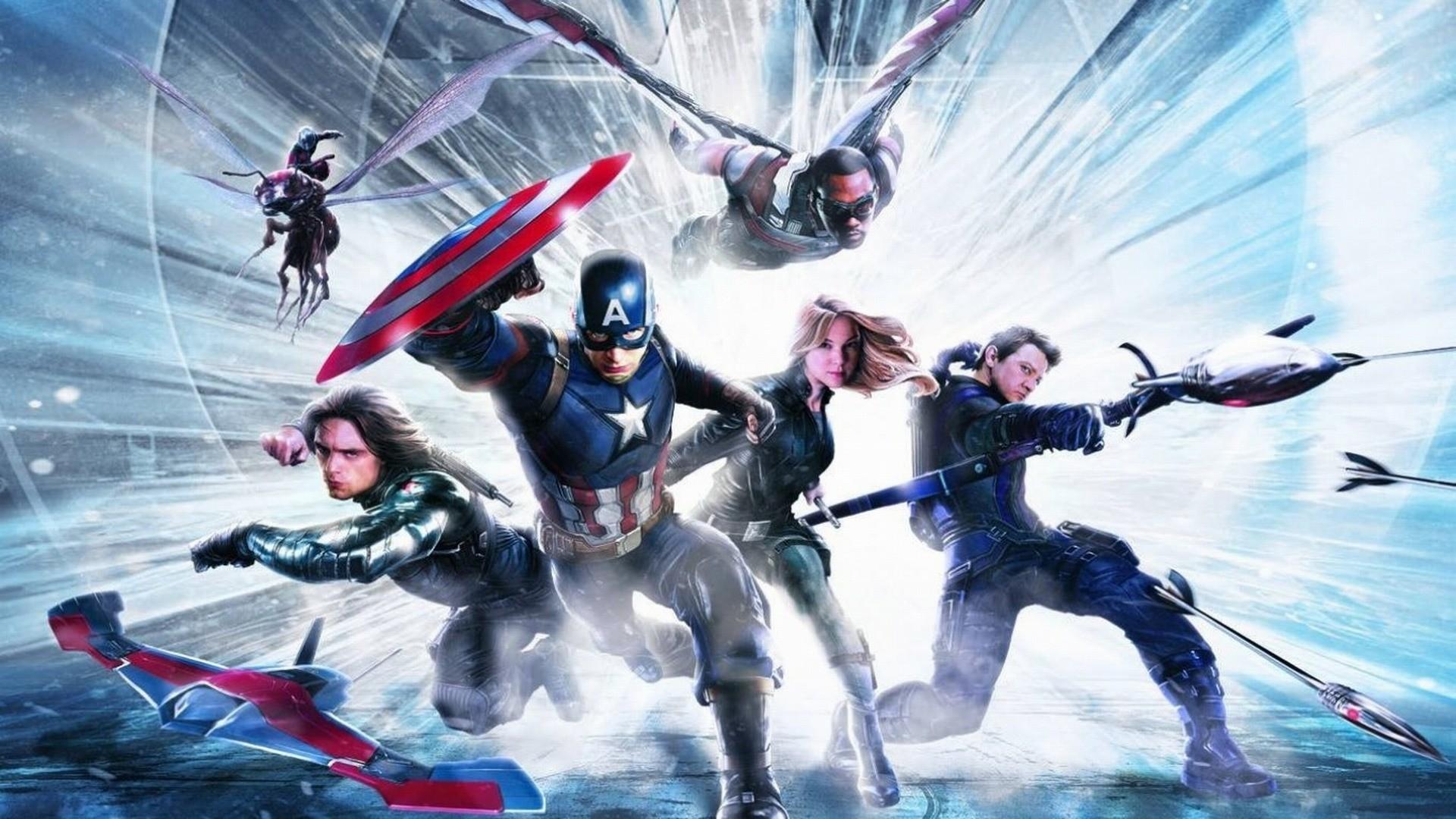 Captain America Civil War Hd Wallpaper By Theincrediblejake On