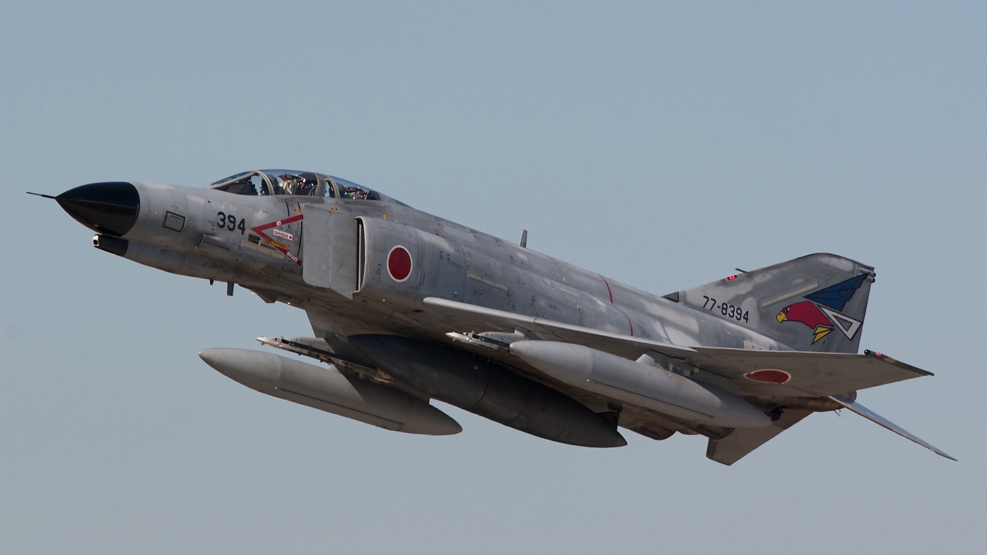 1920x1080  Wallpaper mitsubishi f-4ej, phantom ii, aircraft, fighter