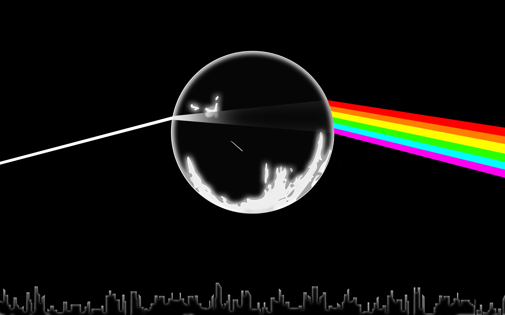 1920x1200 Dark Side Of The Moon Album Cover