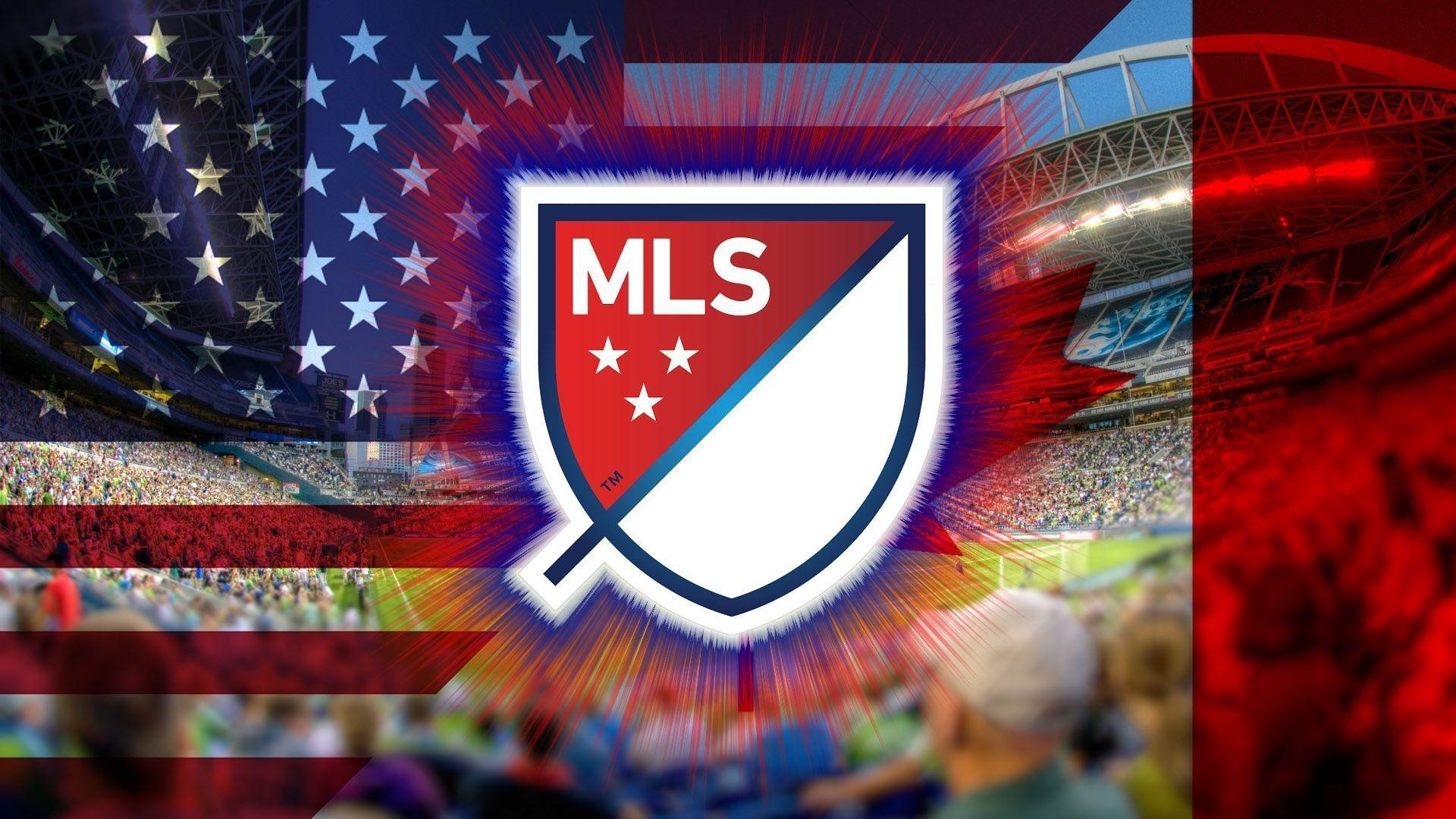 1920x1080 New MLS Logo 2015 Crest Wallpaper Wide or HD | Sports Wallpapers