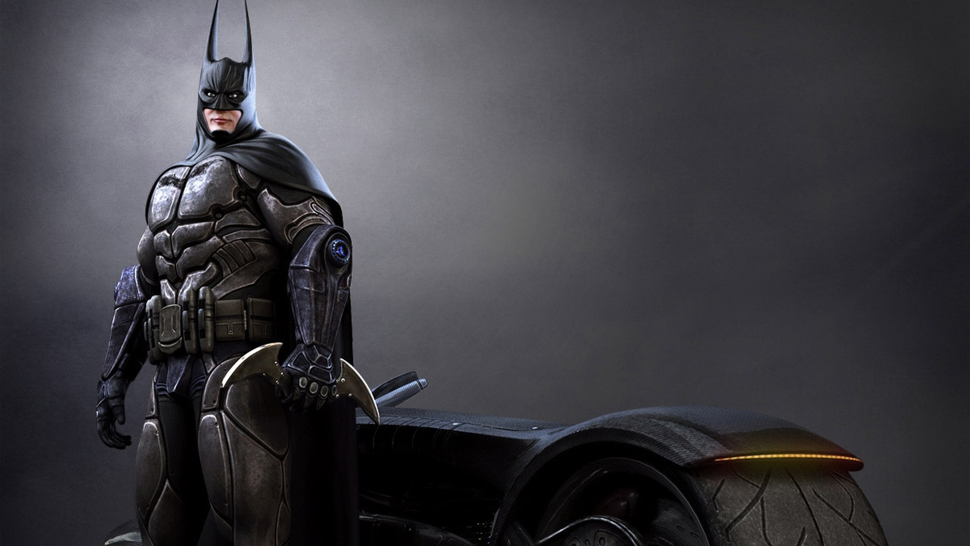 1920x1080 Batman Bike Wallpaper