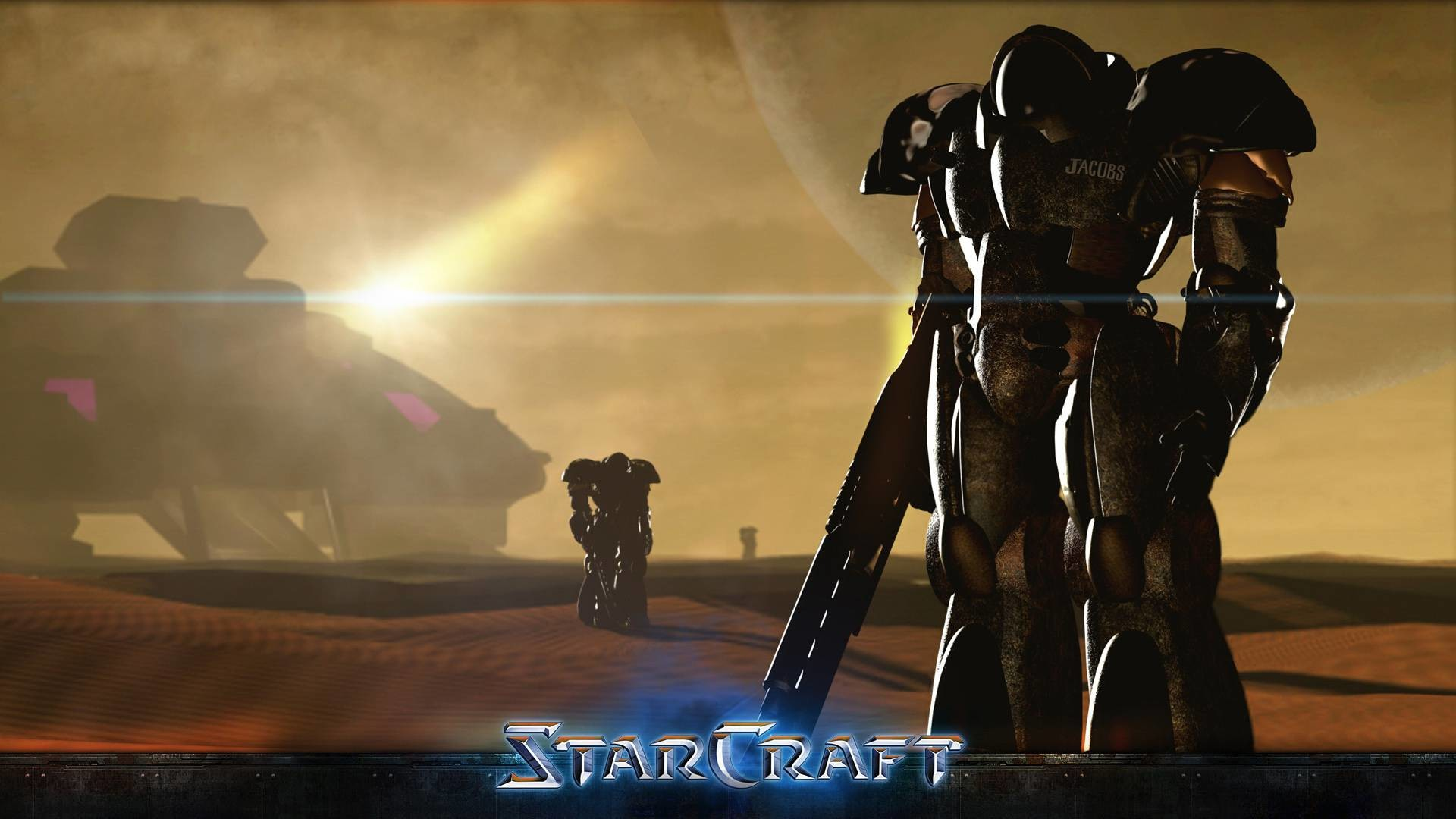 Wallpaper StarCraft Infested Marine Infected marine Heart of