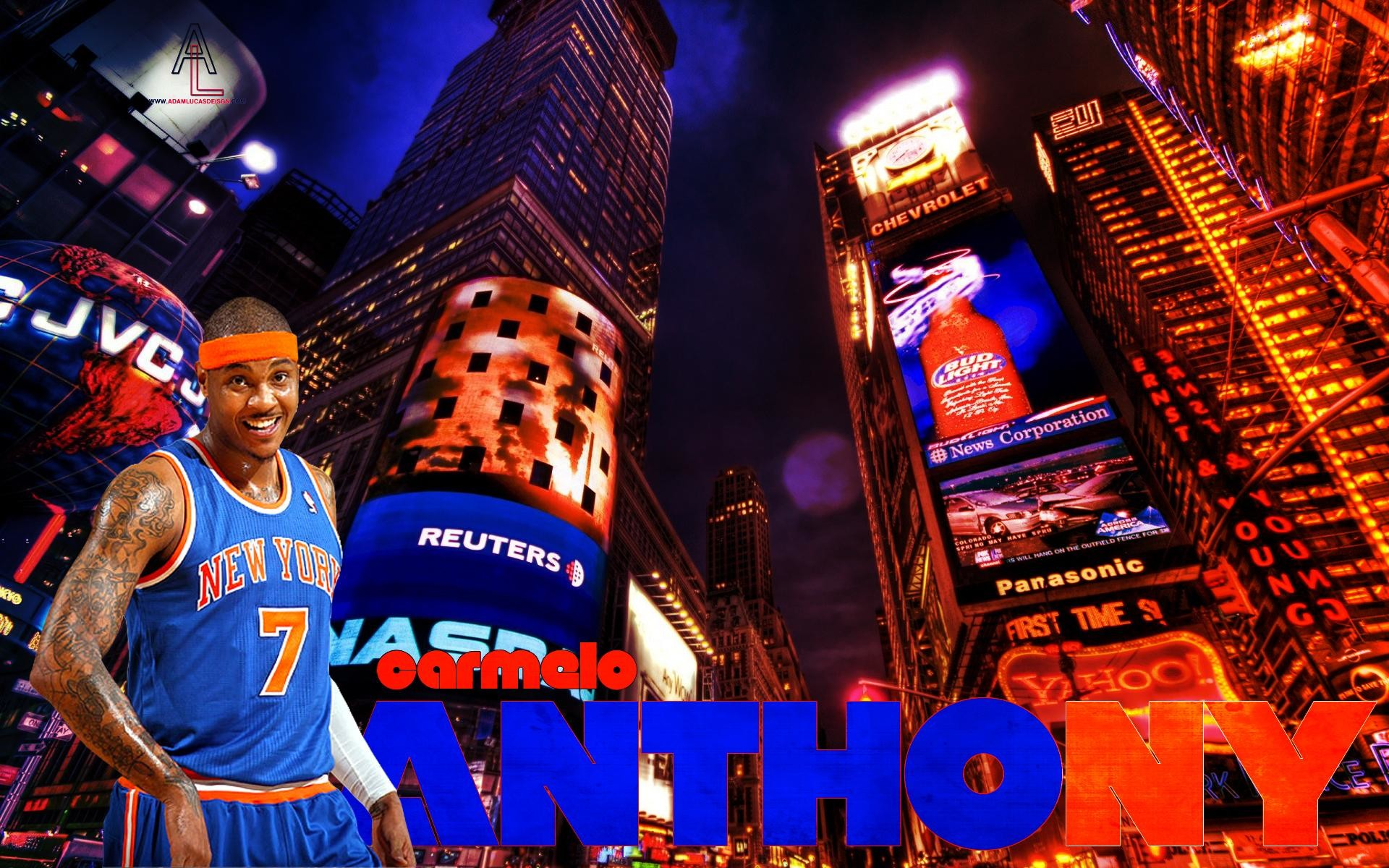 1920x1200 Carmelo Anthony Wallpaper