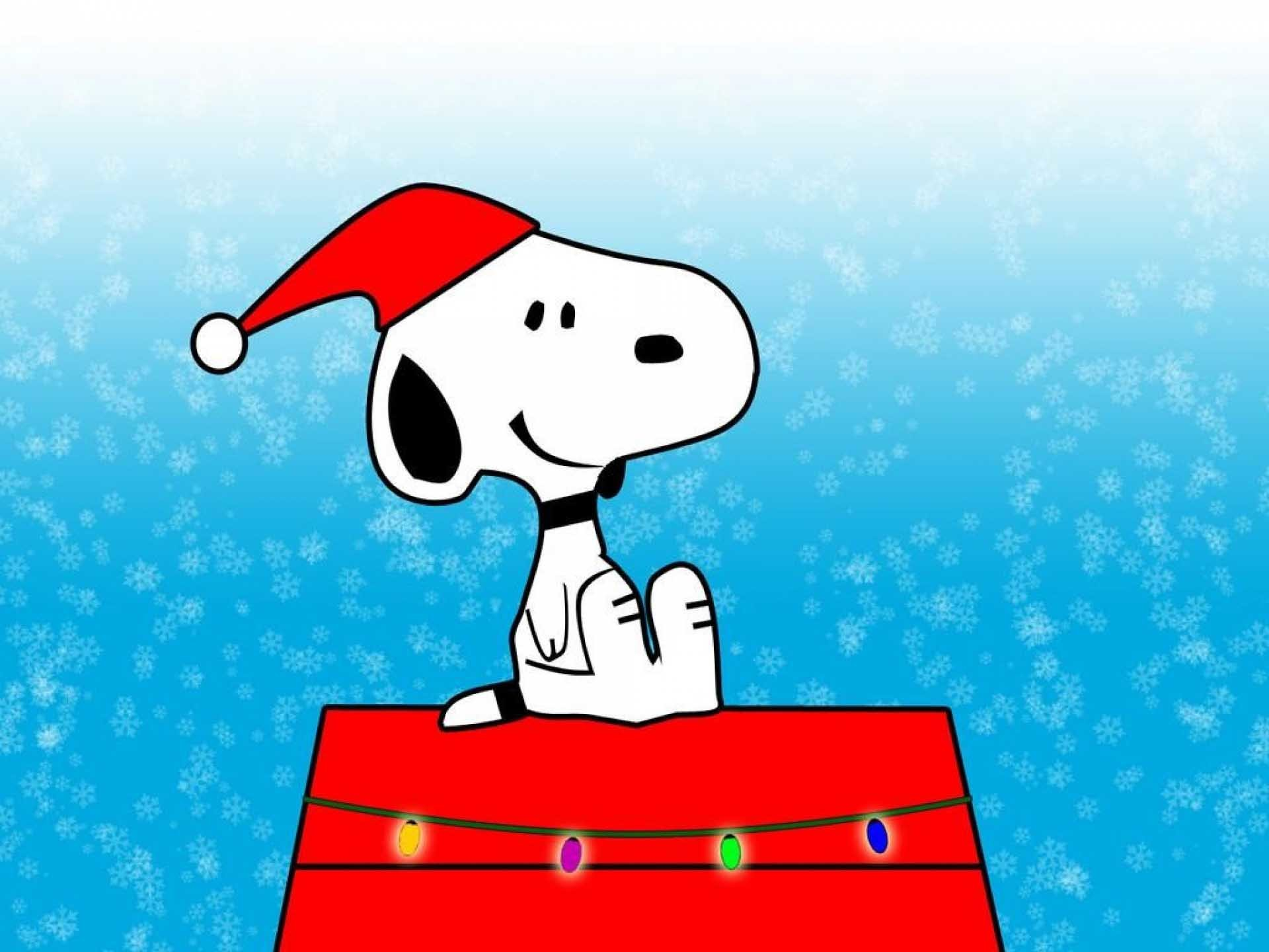 1920x1440 Snoopy Christmas HD Wallpapers for Desktop
