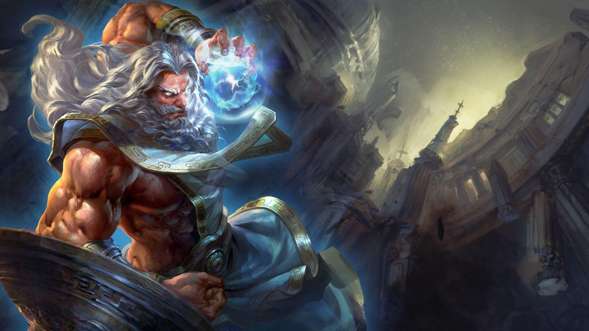 how to build zeus in arena reddit