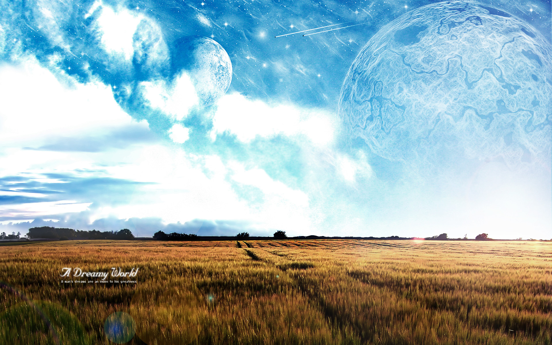 1920x1200 A dreamy world by bo0xVn A dreamy world by bo0xVn