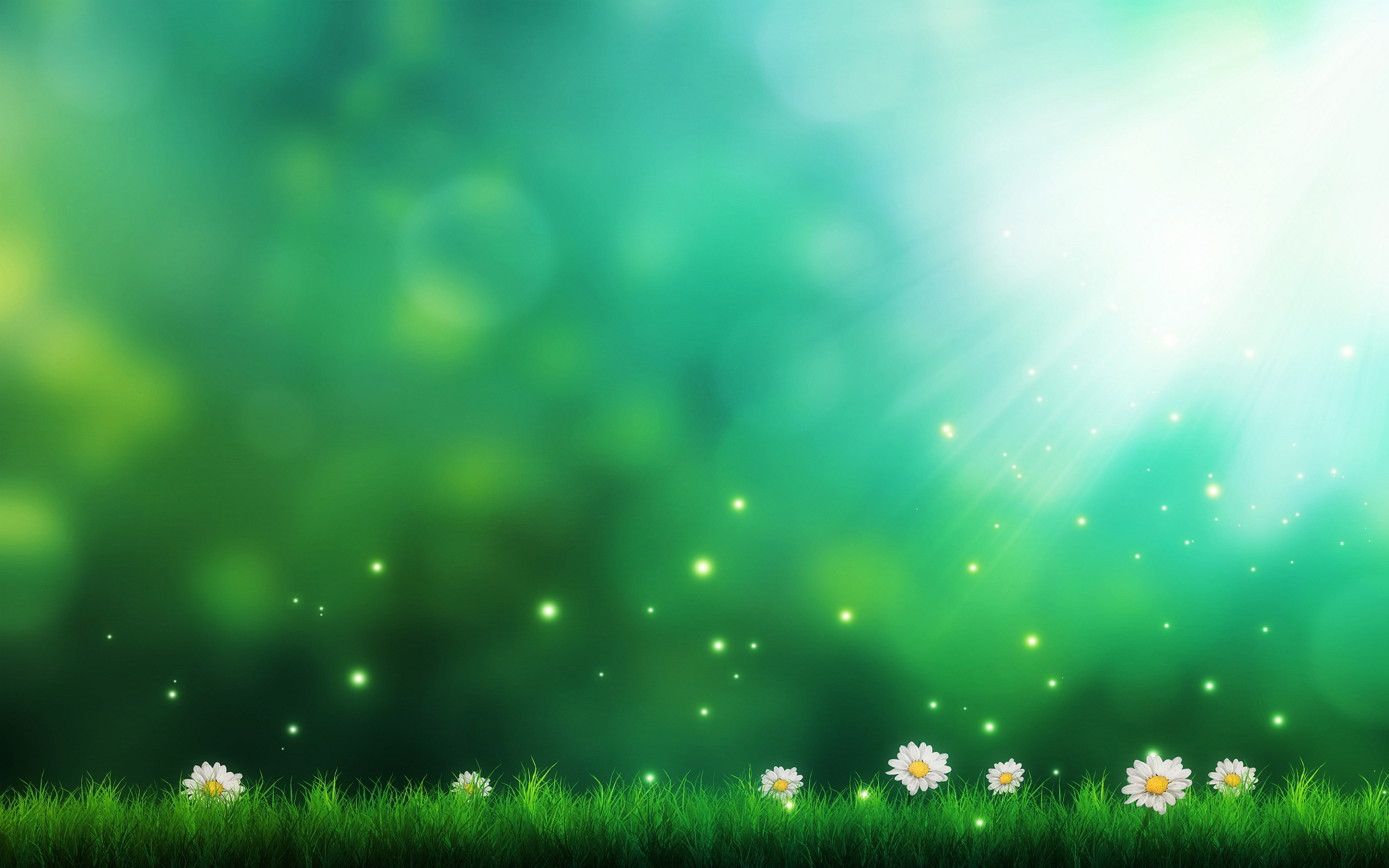2880x1800 Green Background Pictures 17225