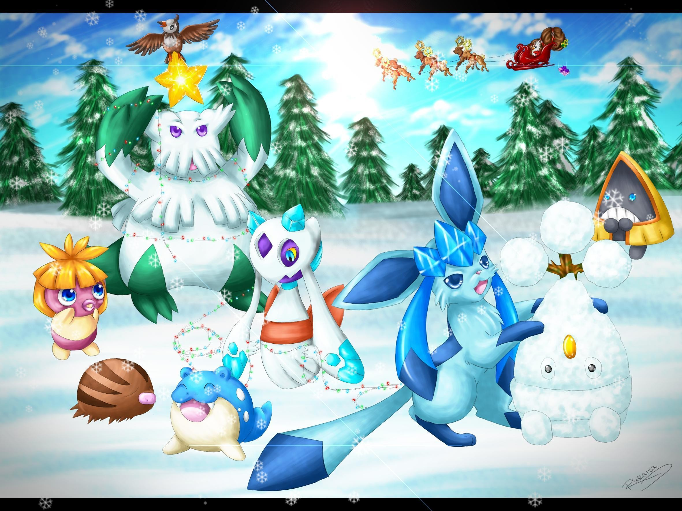 2362x1772 Filename: CUnpe3p.jpg · view image. Found on: pokemon-christmas-wallpaper
