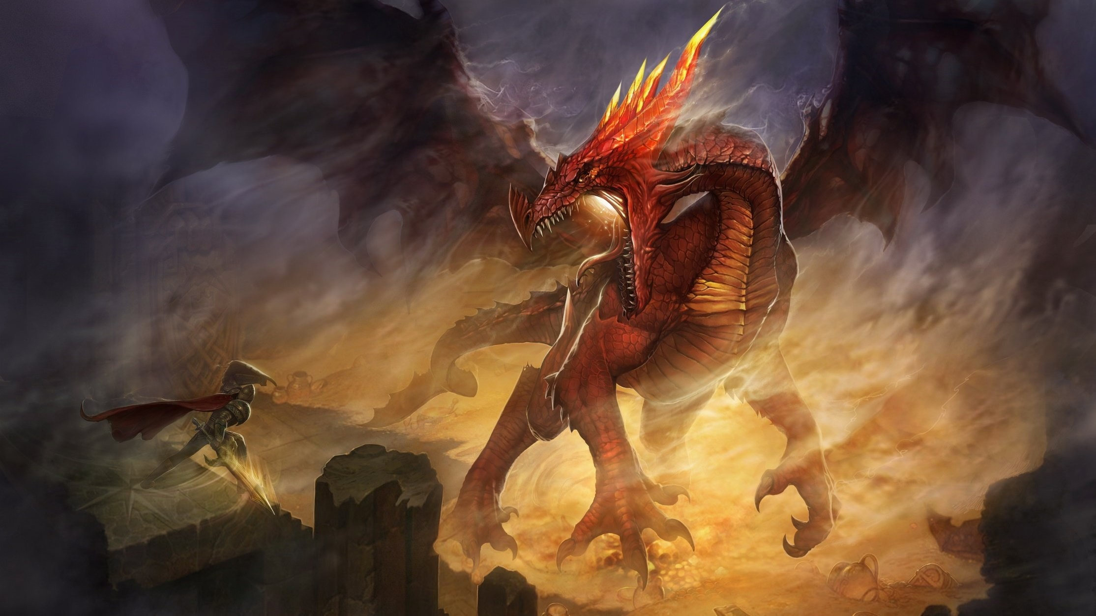 2229x1253 Dragon, Wallpapers Metal Fantasy: Heavy Metal wallpapers, pictures and .