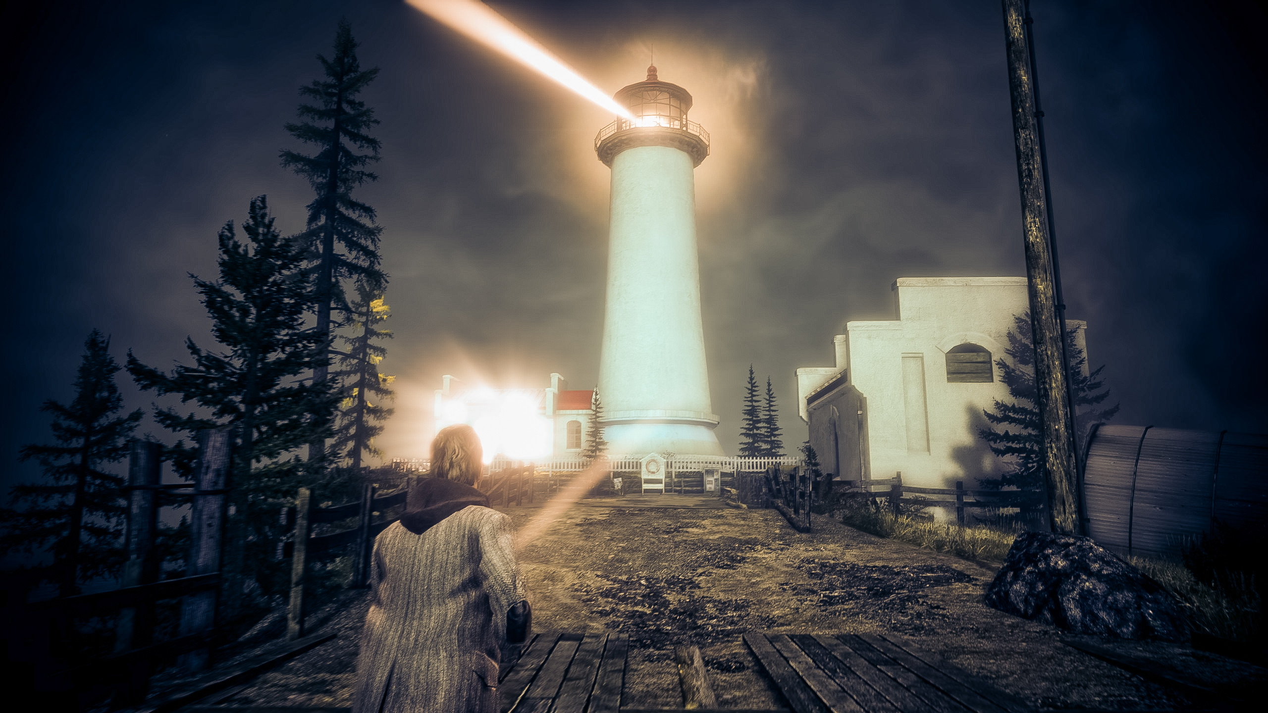 2560x1440 ... Alan Wake - Lighthouse Alternative by wolfleben
