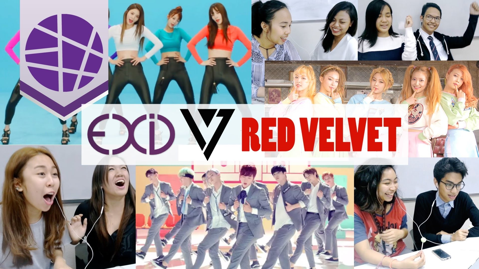 1920x1080 Filipinos React to Kpop #3 (EXID, SEVENTEEN, RED VELVET) | EL's Planet -  YouTube