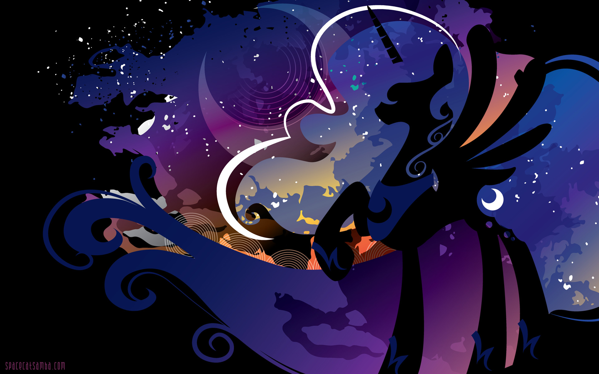 Mlp wallpapers for desktop 76 images - Princess luna screensaver ...