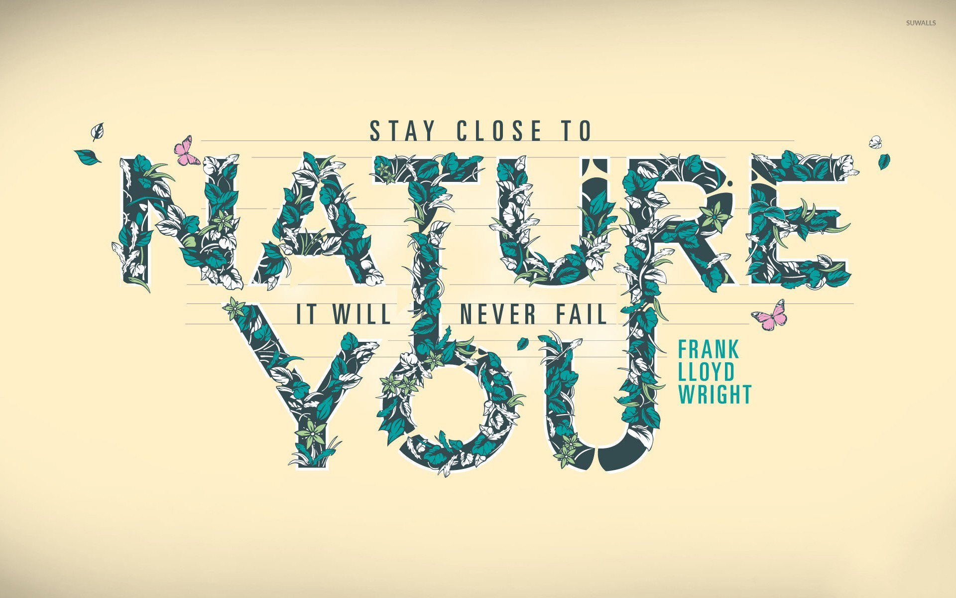 1920x1200 Nature will never fail you wallpaper
