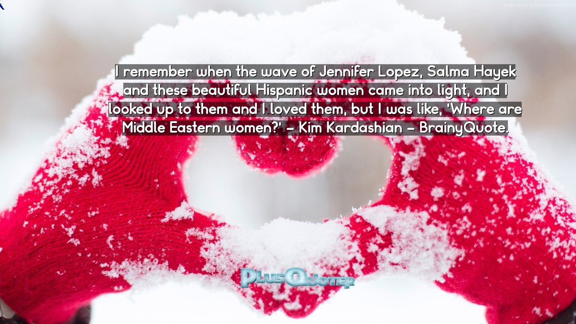 "1920x1080 Download Wallpaper with inspirational Quotes- ""I remember when the wave of  Jennifer Lopez,"