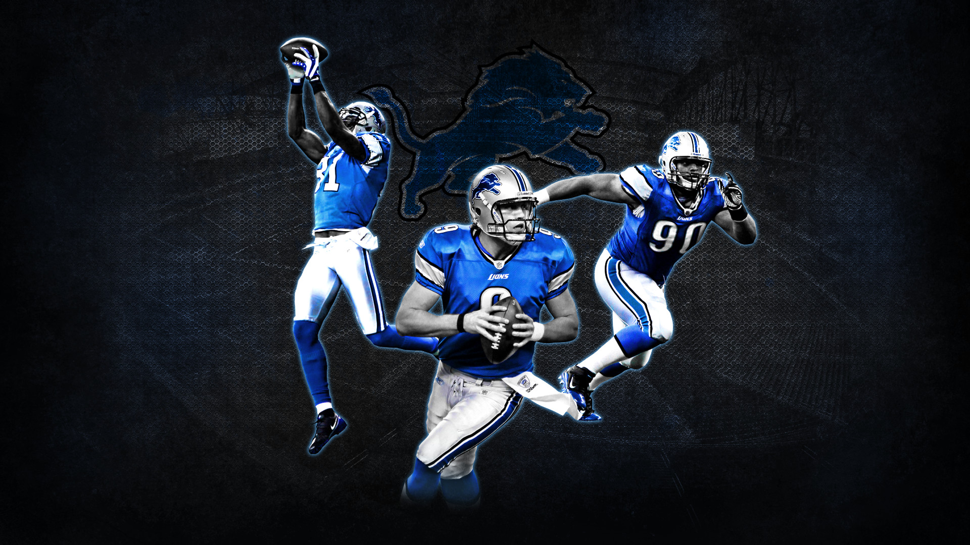 1920x1080 Detroit Lions Wallpaper HD