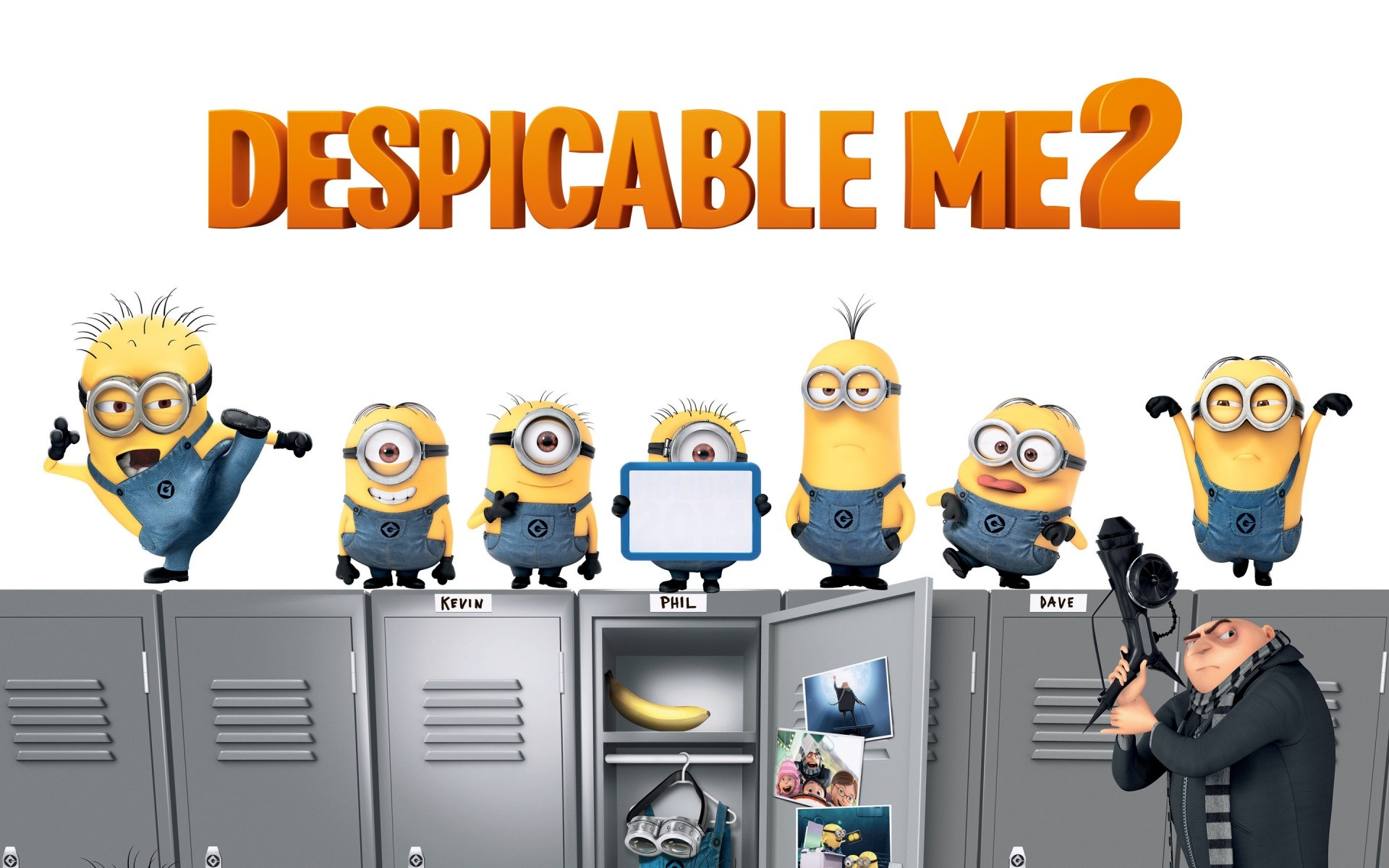 1920x1200 Minions Despicable Me 2 Desktop Wallpaper