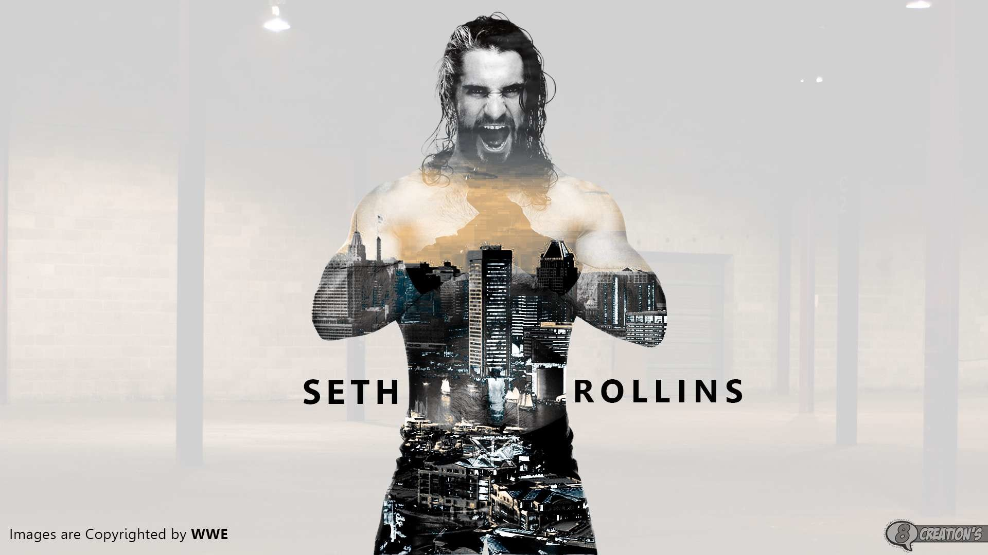 1920x1080 Seth Rollins Wallpaper HD Best Collection Of WWE Superstar