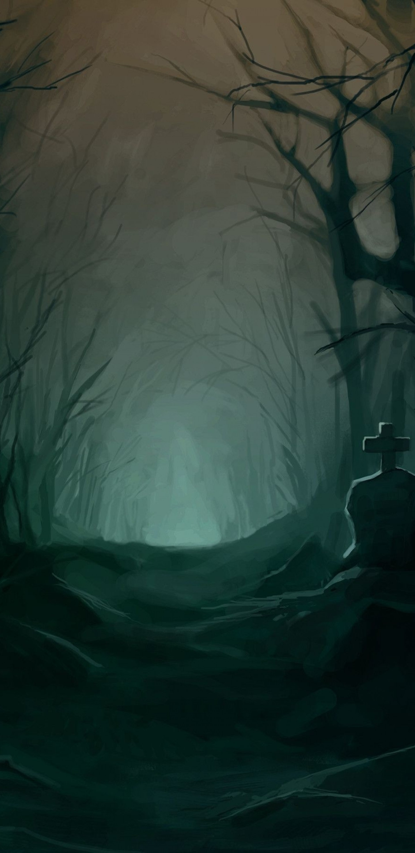 dark scary forest wallpaper 64 images