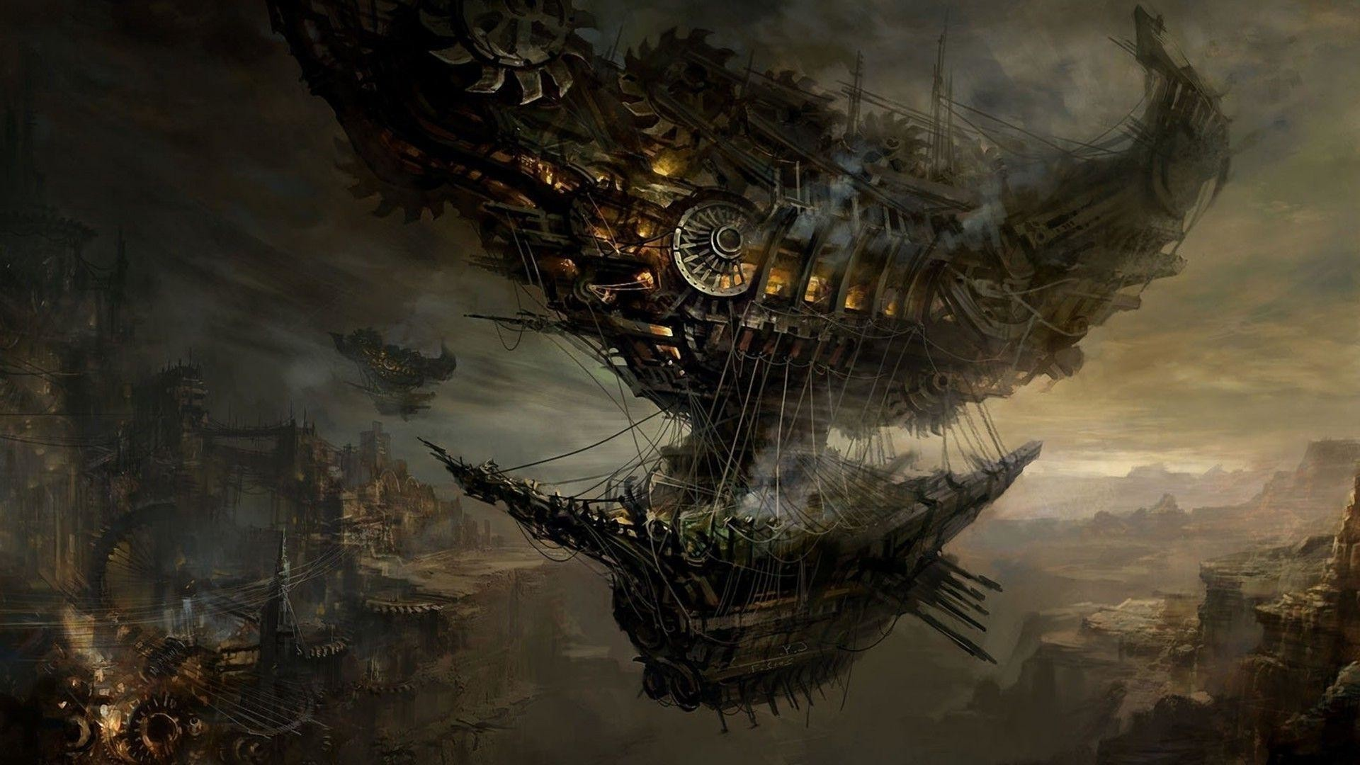 21x9 Wallpapers 71 Images: Steampunk Wallpapers (71+ Images