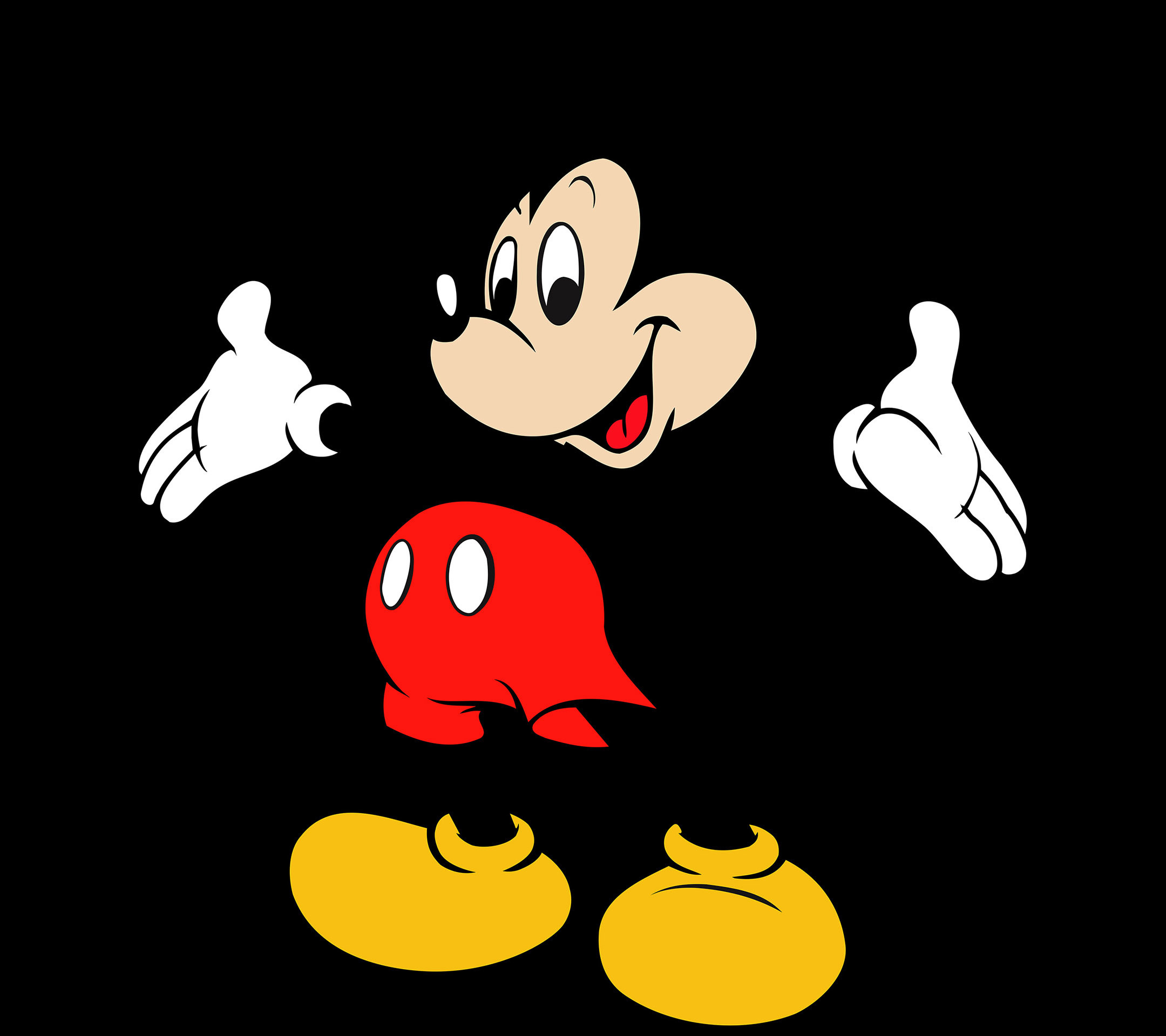 2160x1920 Download Free Mickey Mouse mobile Mobile Phone Wallpaper 2160×1920