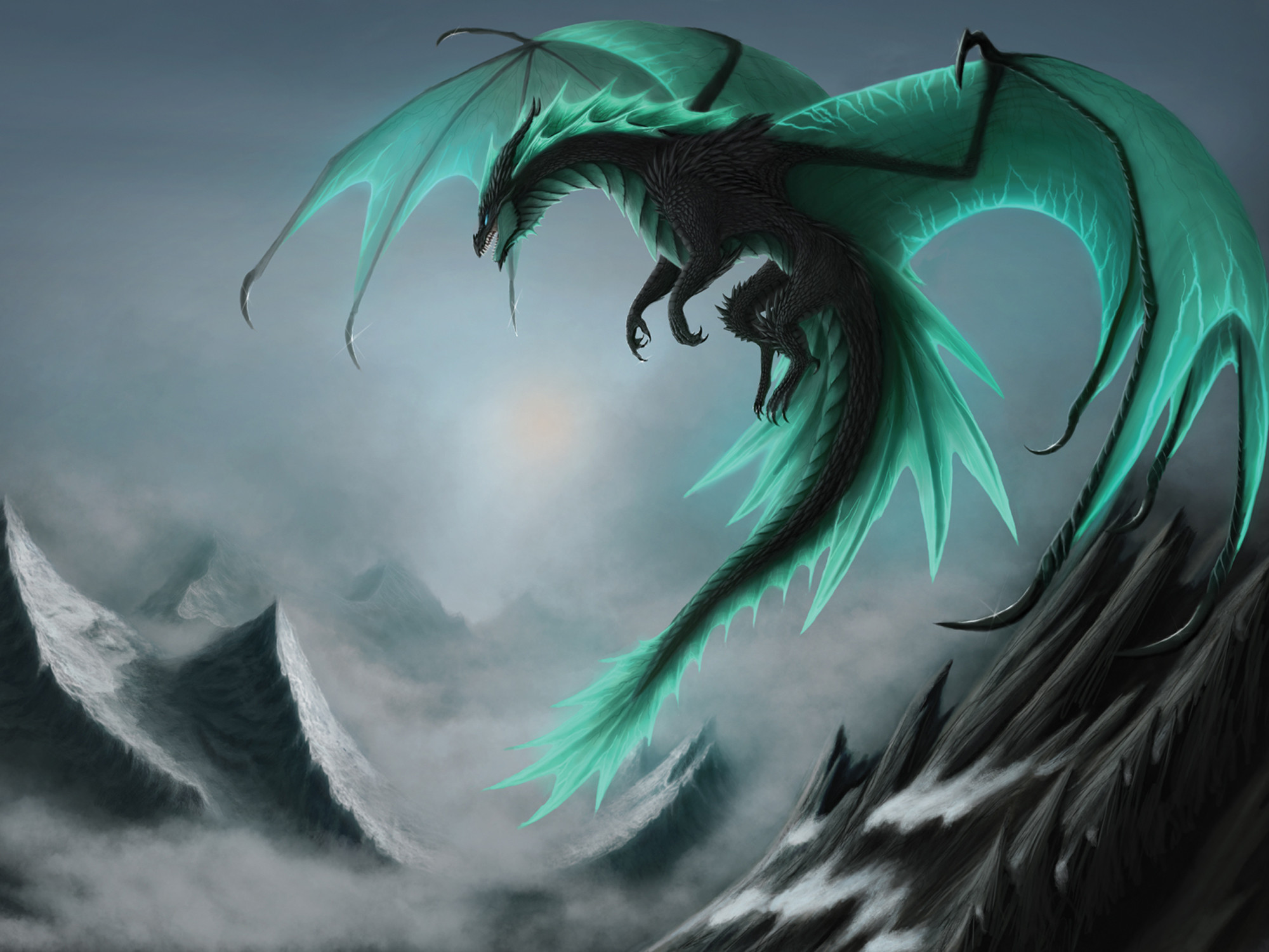 2000x1500 Dragons Wings Fantasy dragon wallpaper |  | 117286 | WallpaperUP