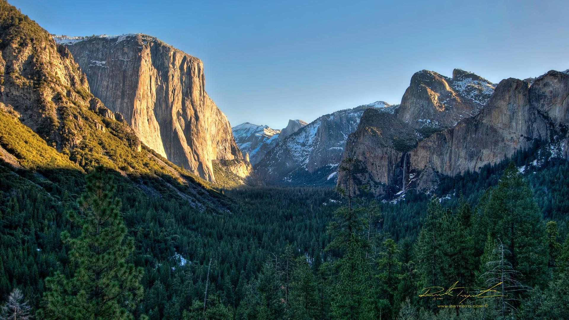 Yosemite National Park Wallpaper HD